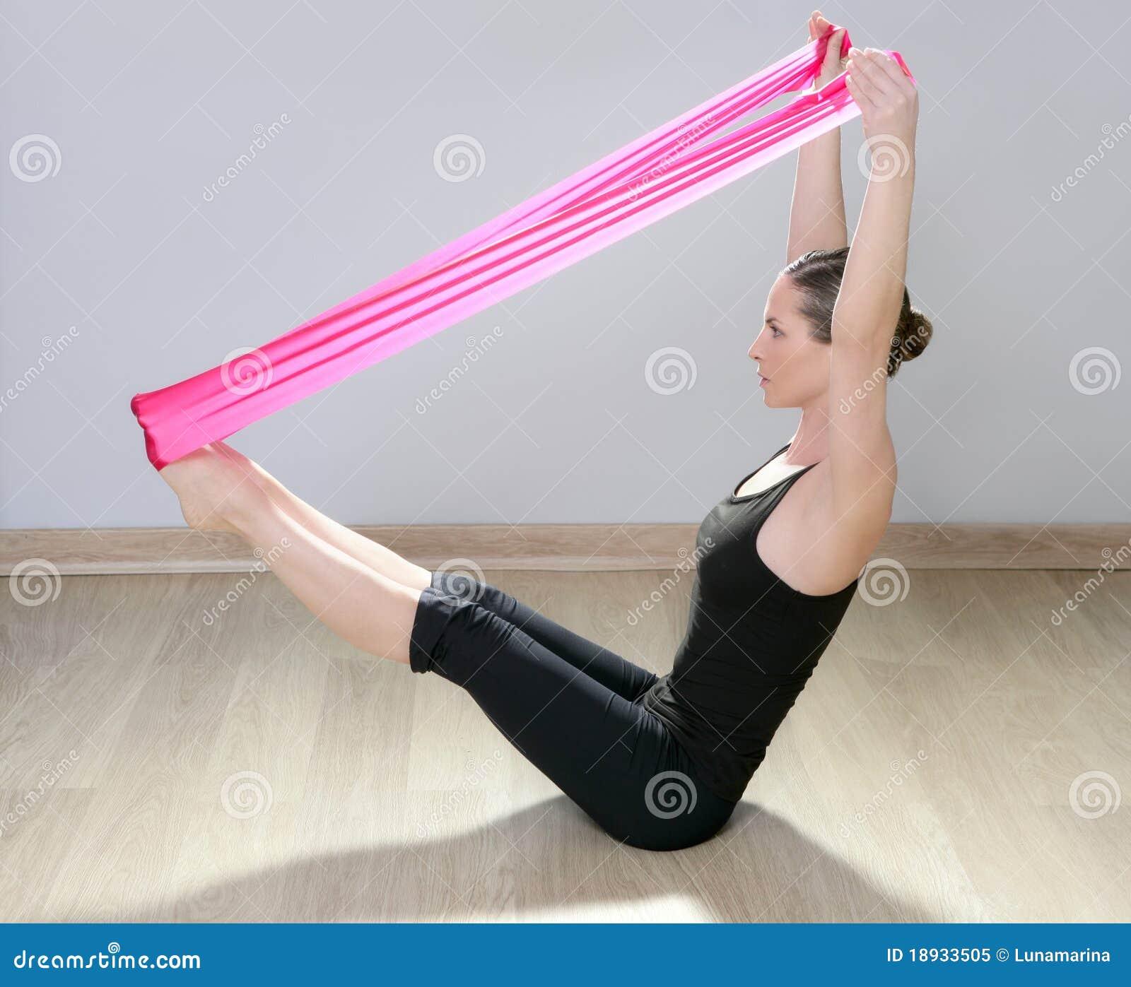 ζωνών γυμναστικής pilates κόκκιν&