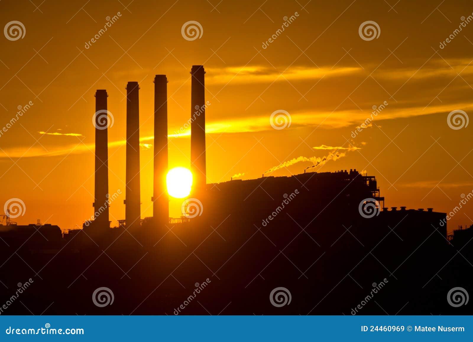 ηλεκτρικός στρόβιλος σκιαγραφιών ισχύος φυτών αερίου