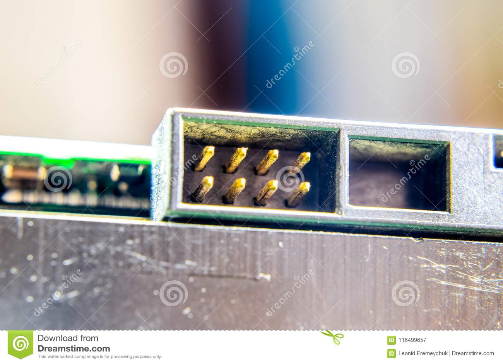 Ηλεκτρονικός πίνακας με τα ηλεκτρικά συστατικά Ηλεκτρονική του εξοπλισμού υπολογιστών