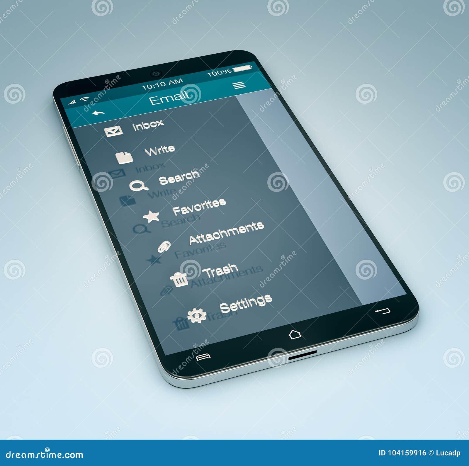 Ηλεκτρονικό ταχυδρομείο κινητό app