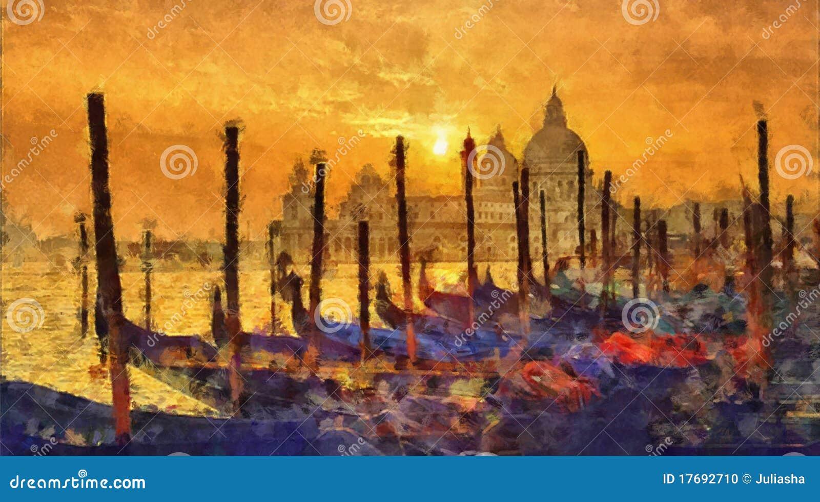 ηλιοβασίλεμα Βενετία