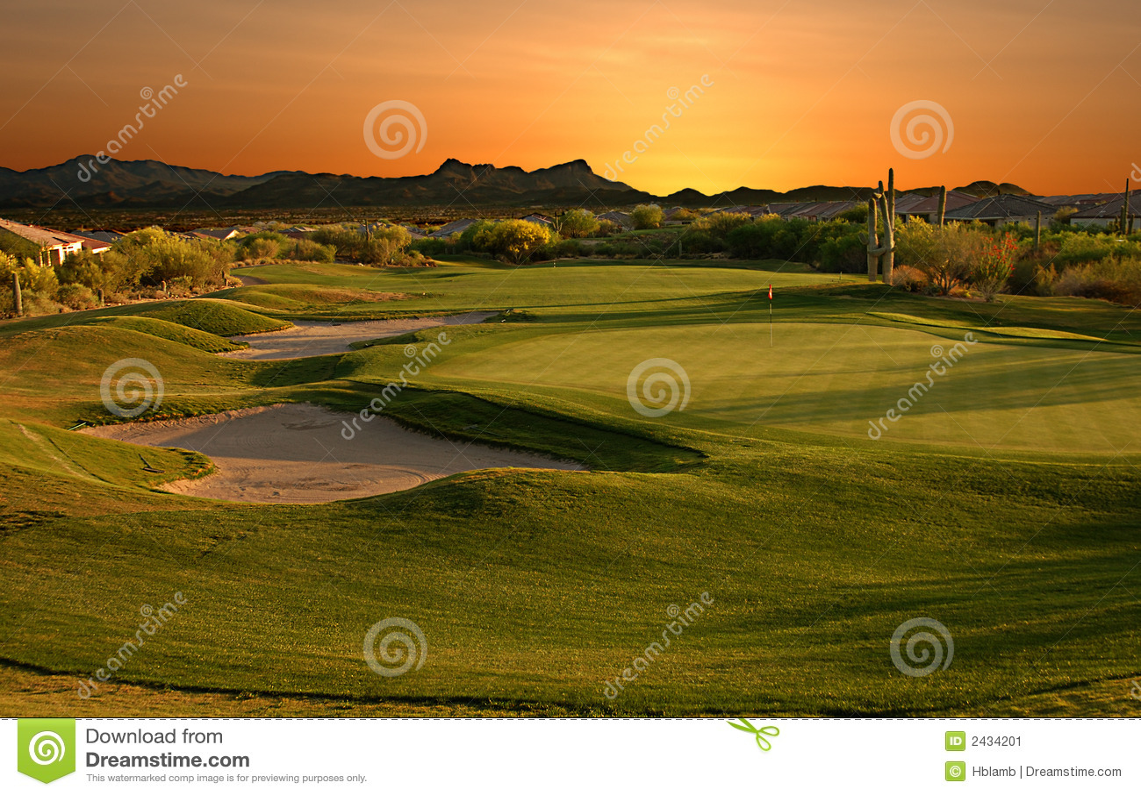 ηλιοβασίλεμα γκολφ σ&epsilon