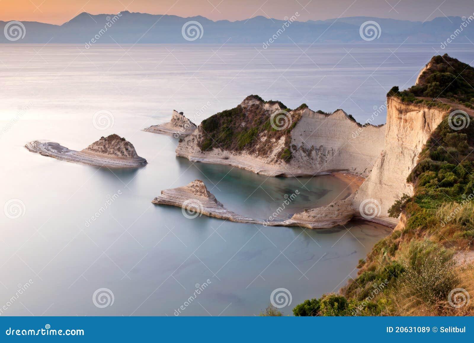ηλιοβασίλεμα νησιών της &Epsi