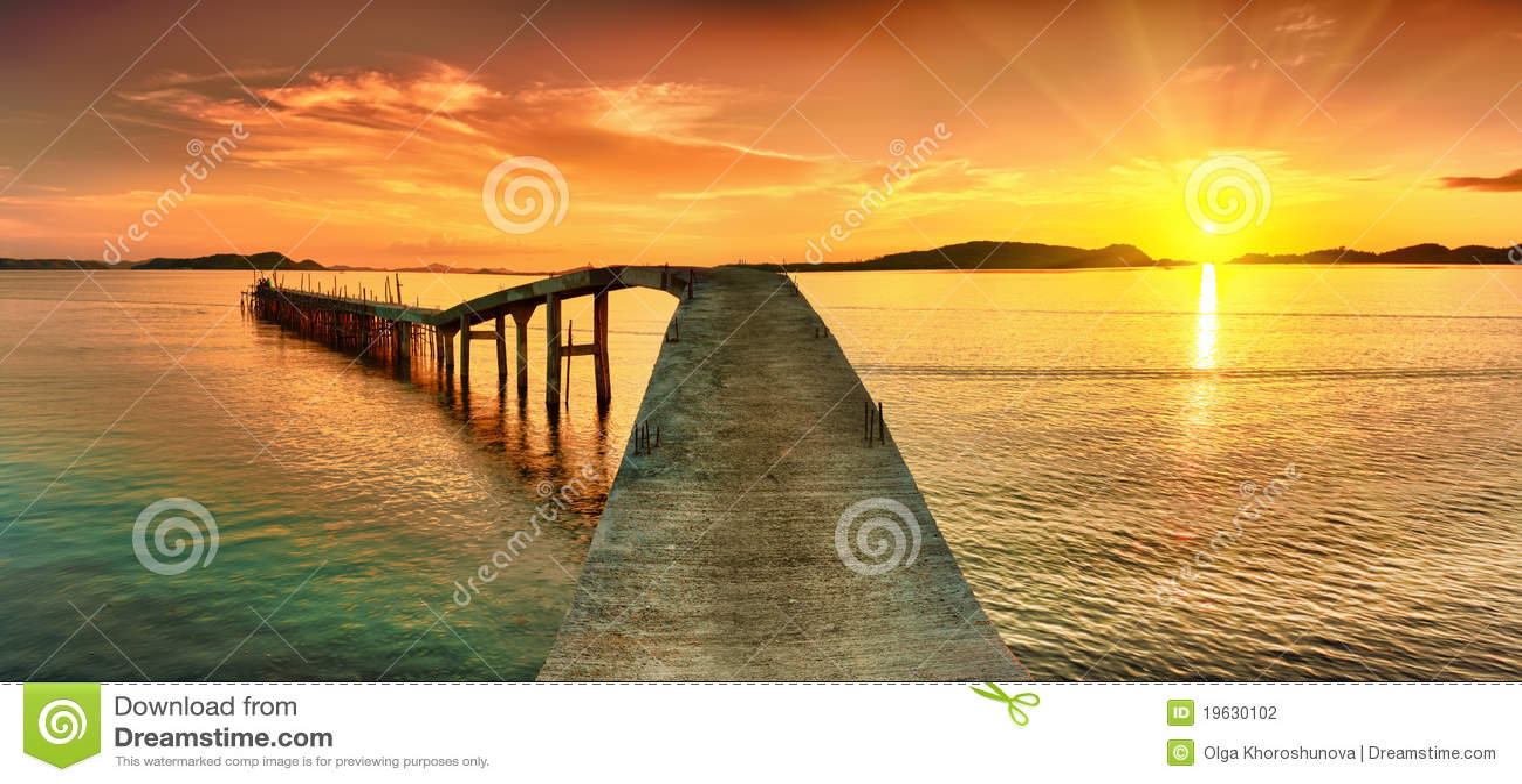 ηλιοβασίλεμα πανοράματ&omicr