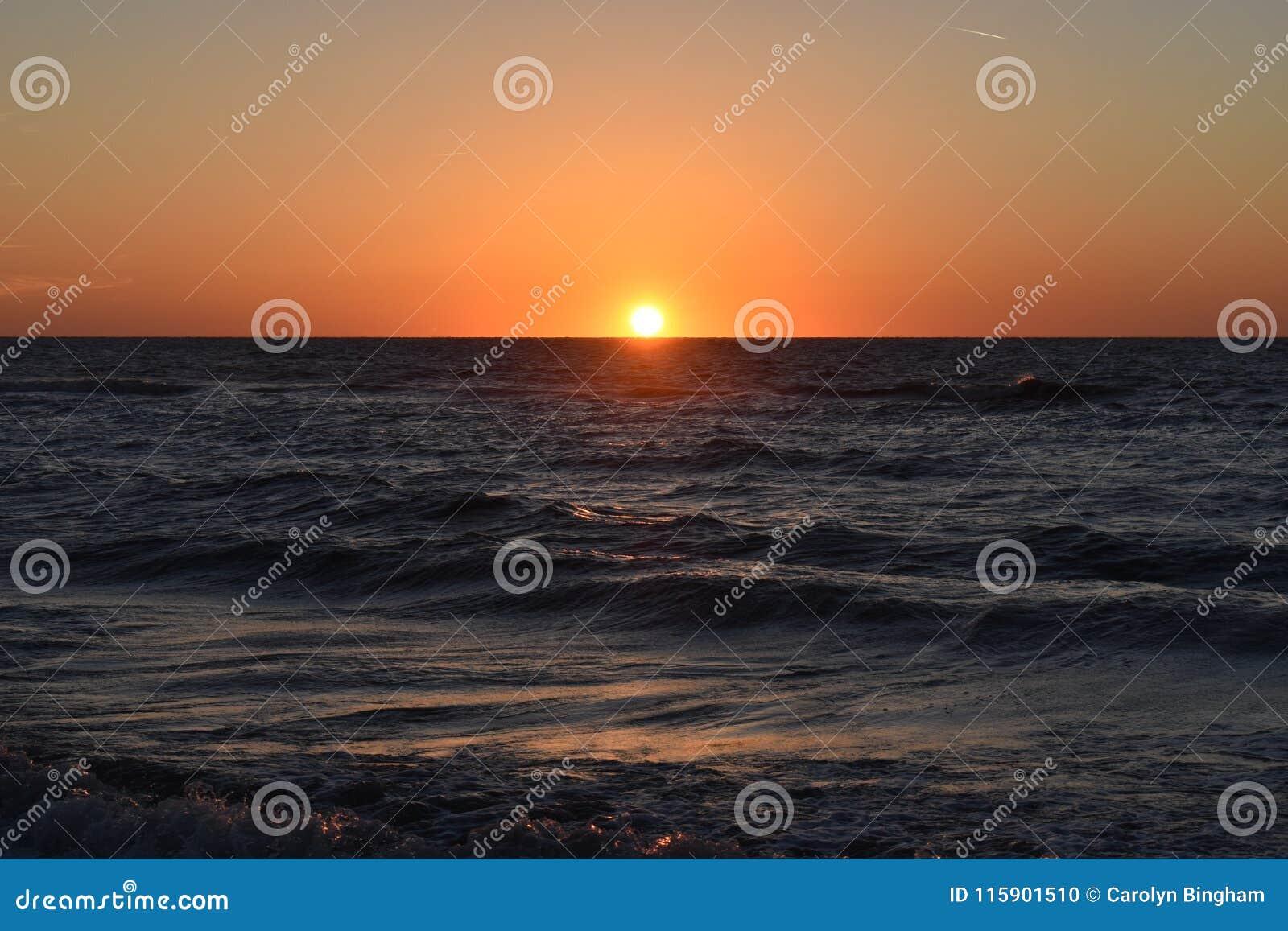 Ηλιοβασίλεμα στην παραλία Clearwater