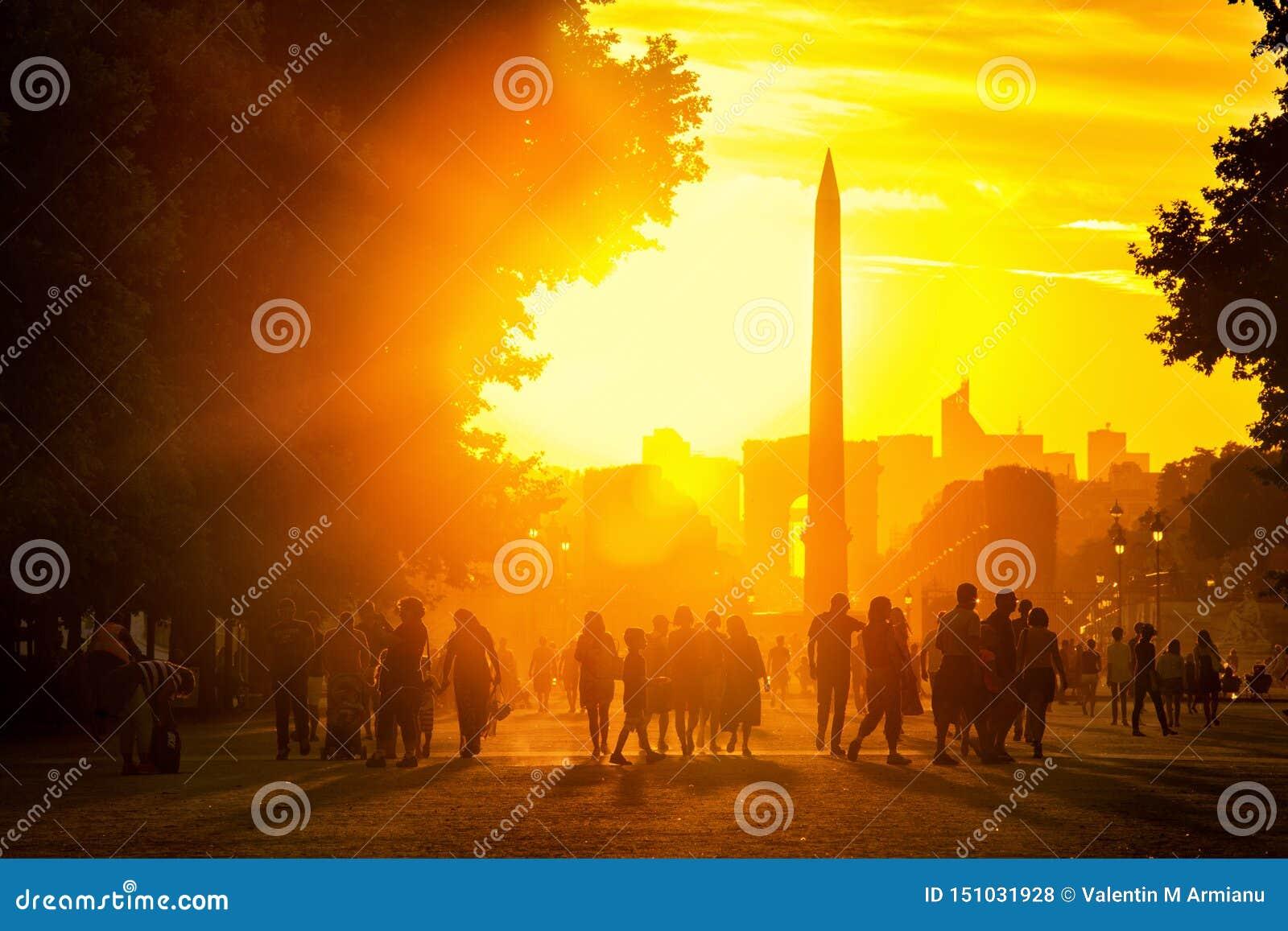 Ηλιοβασίλεμα στο Παρίσι