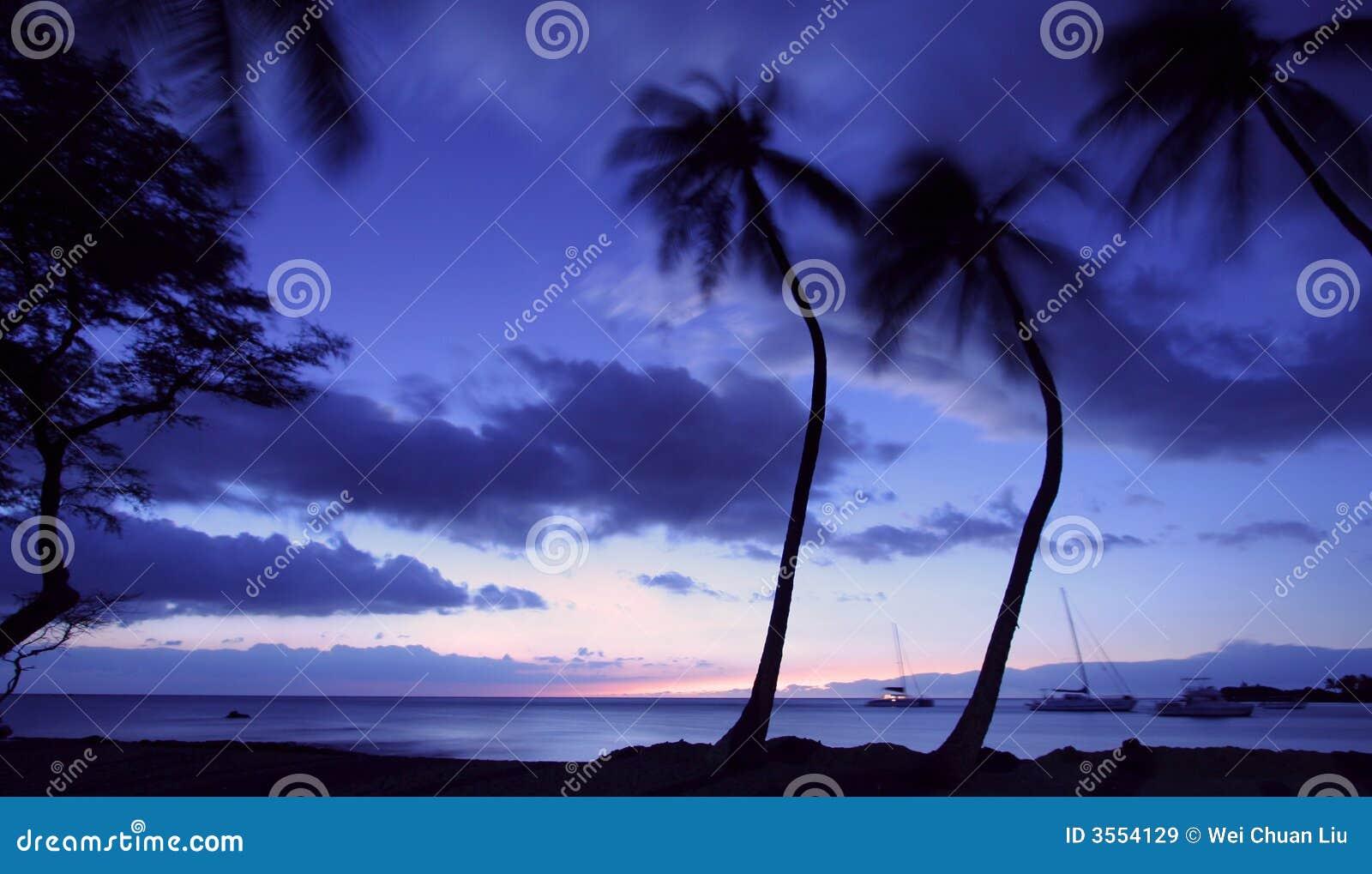 ηλιοβασίλεμα της Χαβάης