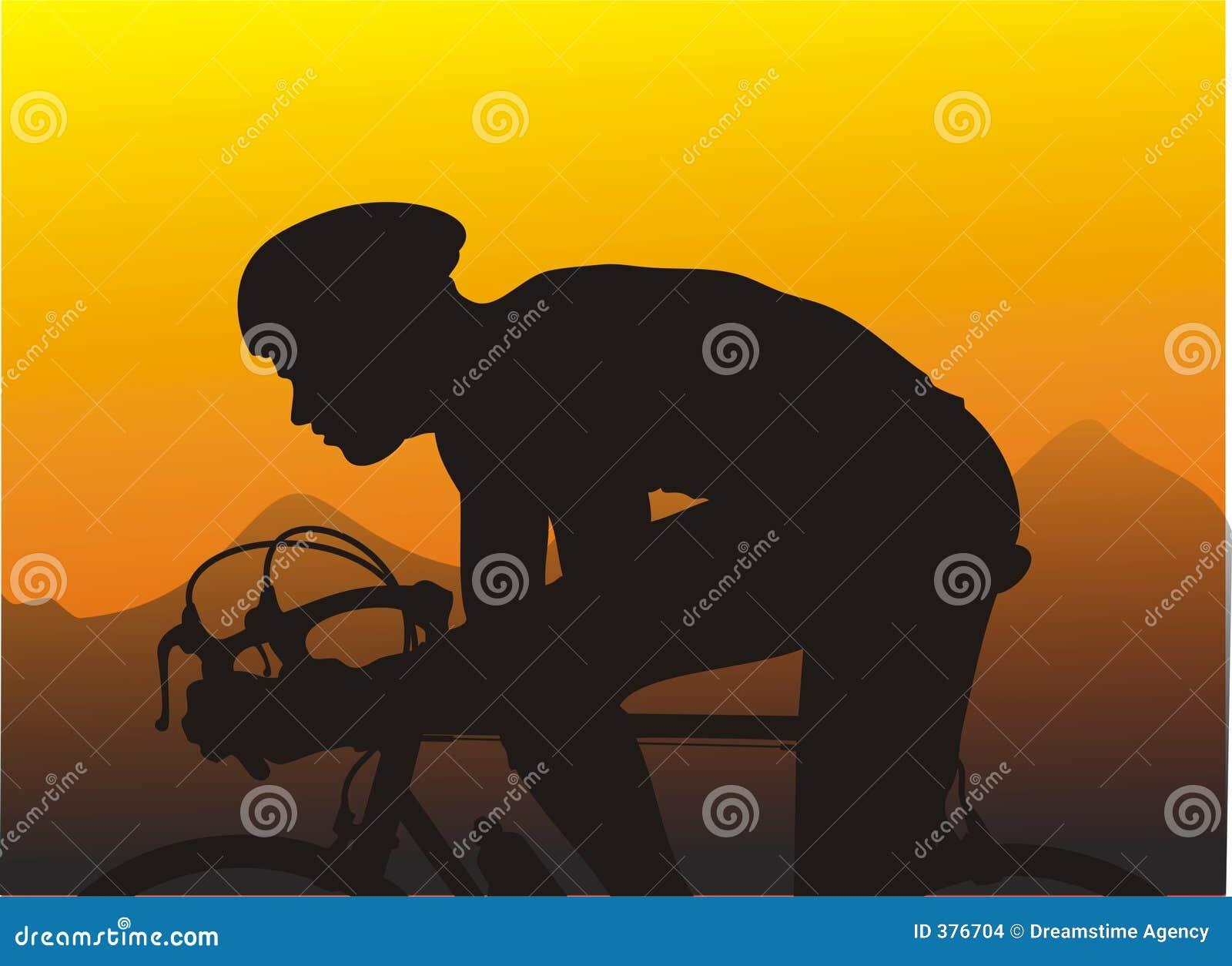 ηλιοβασίλεμα φυλών ποδηλάτων