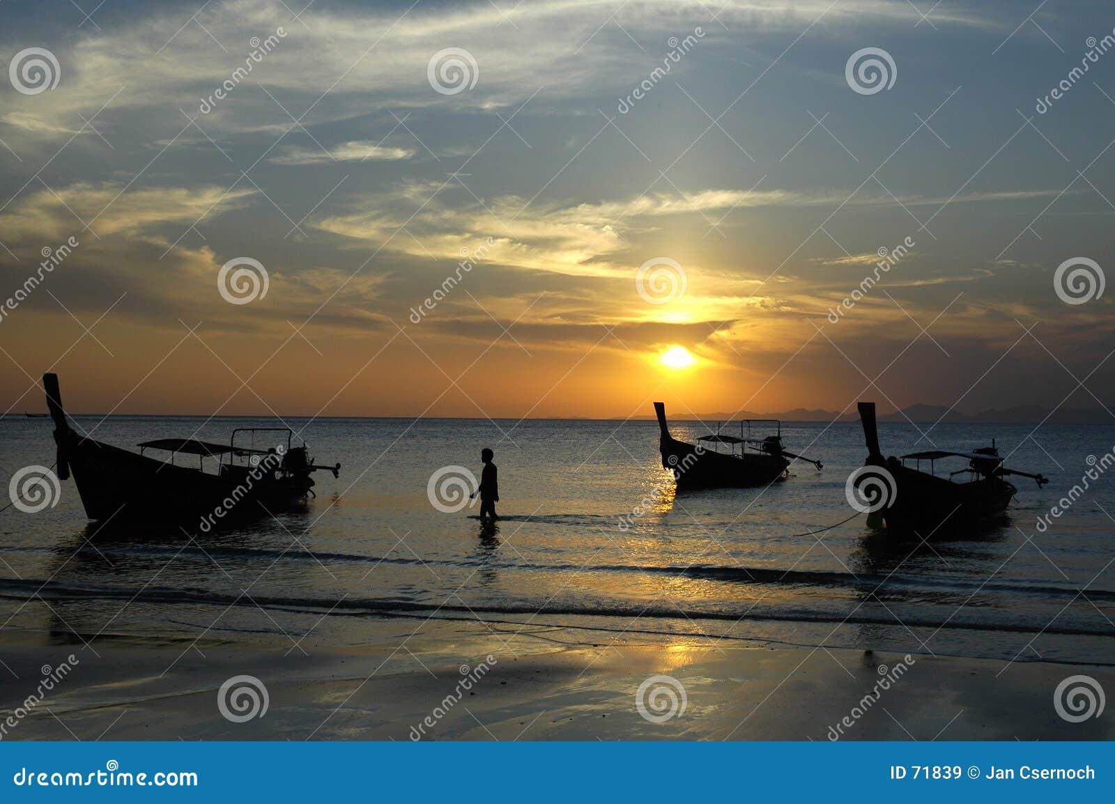 ηλιοβασίλεμα AO nang