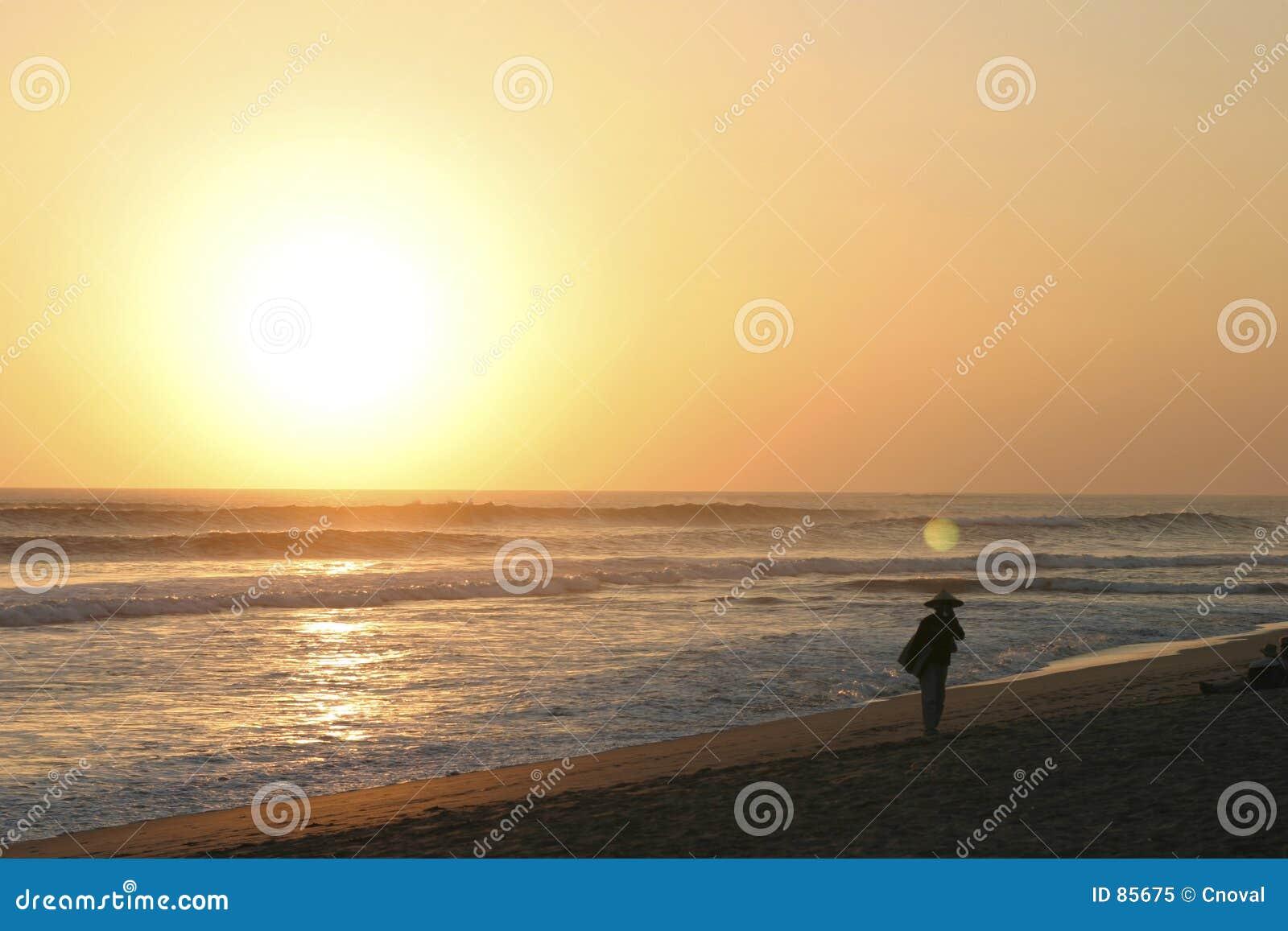 ηλιοβασίλεμα kuta παραλιών &tau