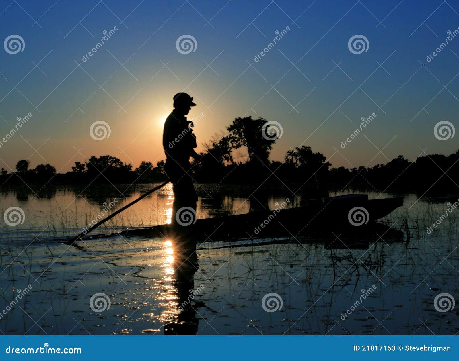 ηλιοβασίλεμα mokoro