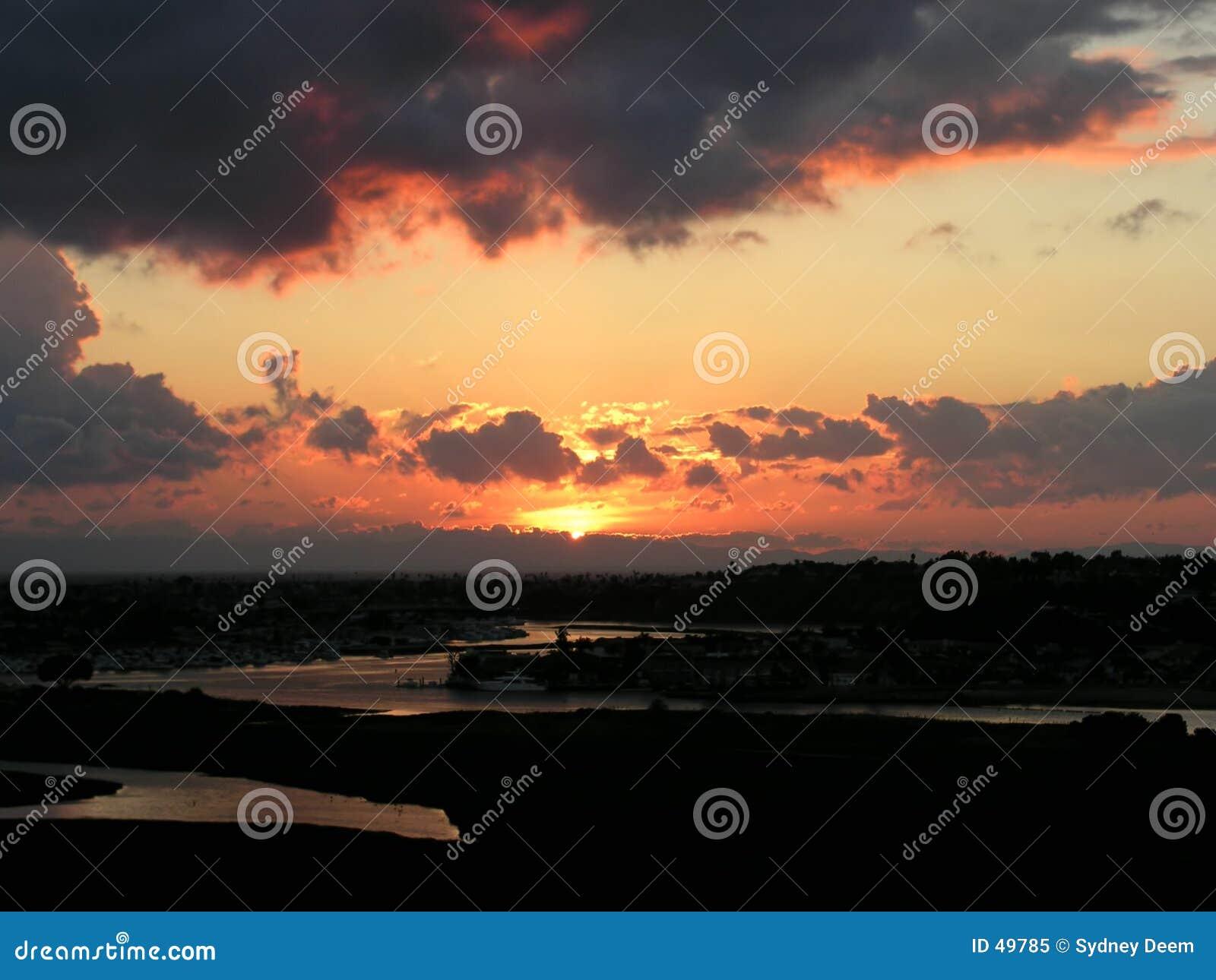 ηλιοβασίλεμα Newport