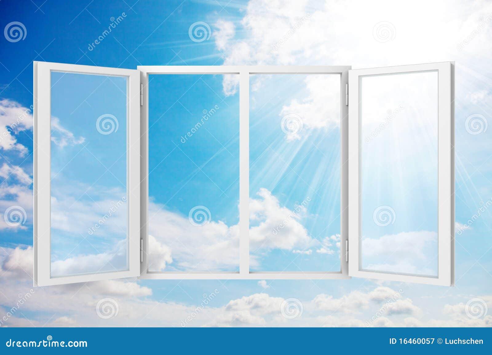 ηλιόλουστο παράθυρο μπ&lambd