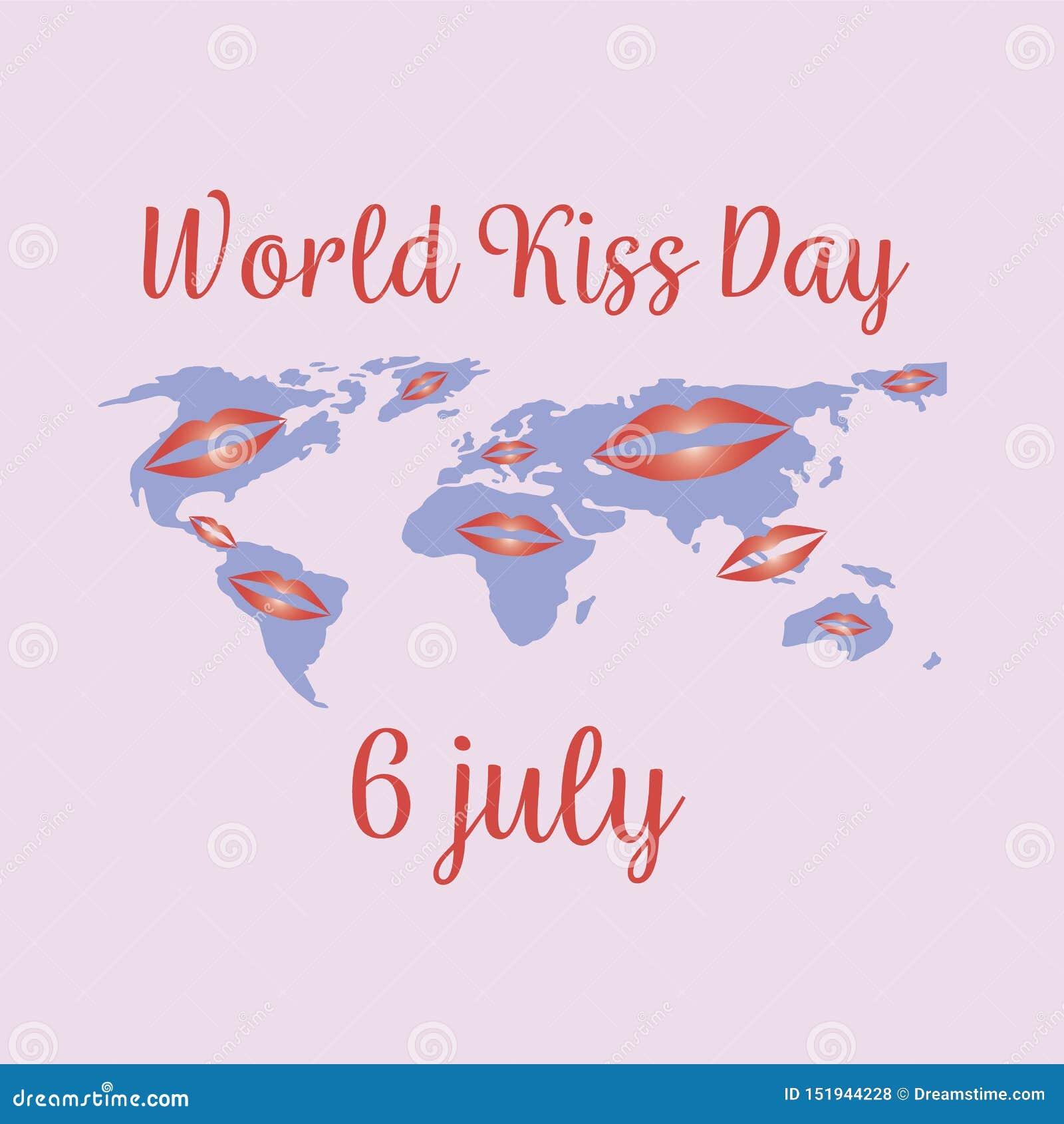 Ημέρα παγκόσμιων φιλιών στις 6 Ιουλίου διακοπών, έννοια r