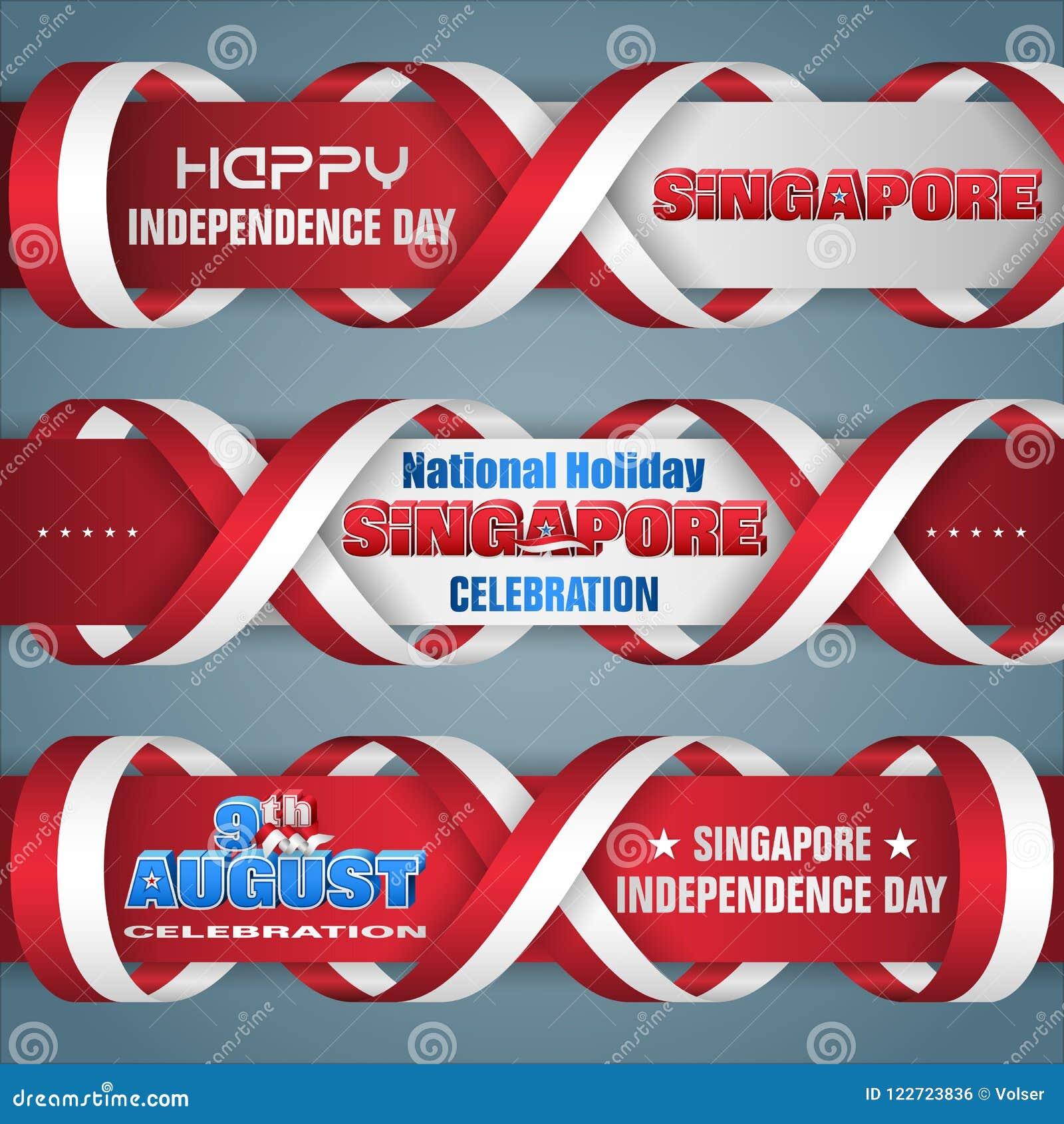 Ημέρα της ανεξαρτησίας της Σιγκαπούρης, εορτασμός, εμβλήματα Ιστού