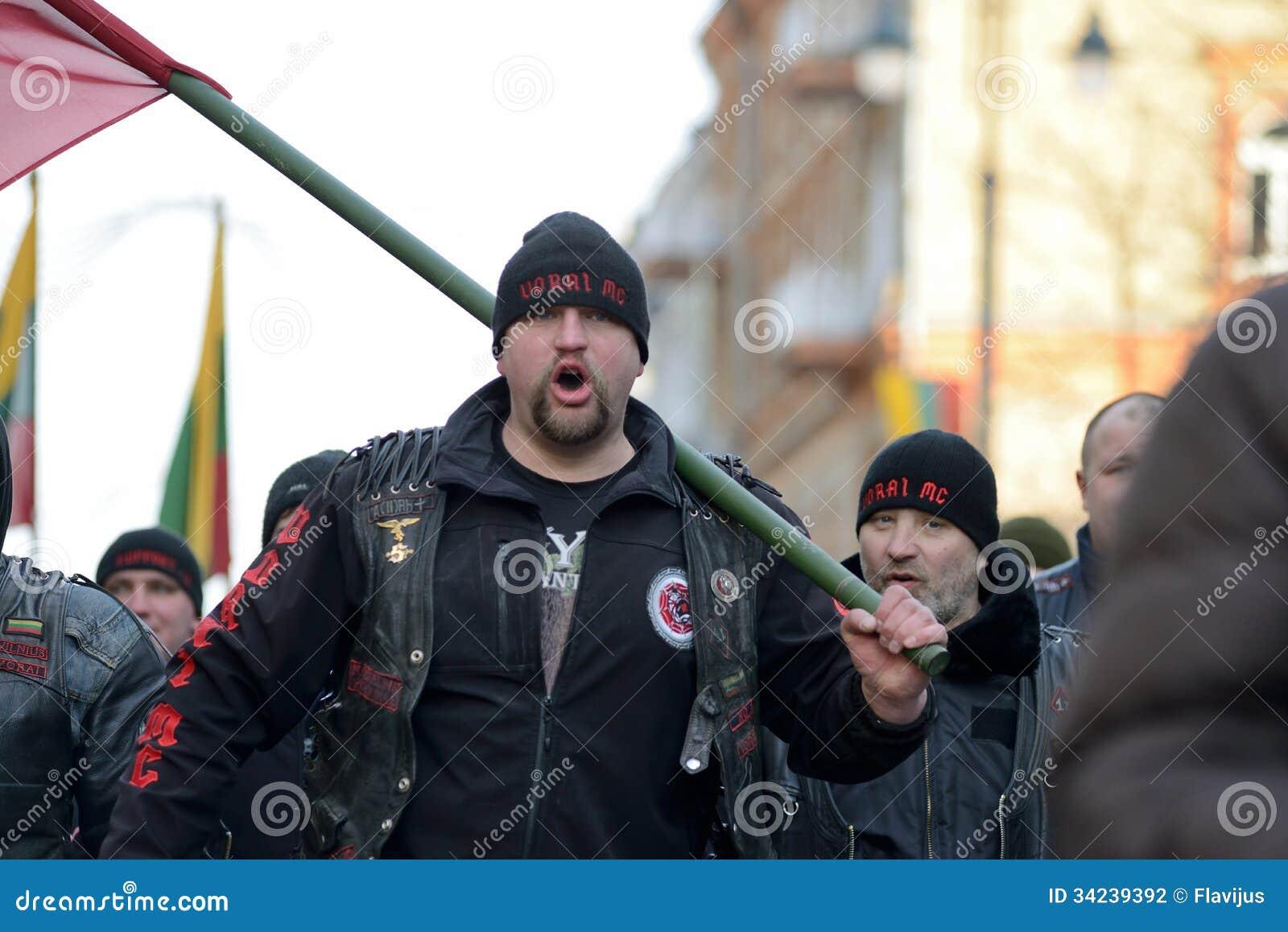 Ημέρα της ανεξαρτησίας, Vilnius, Λιθουανία