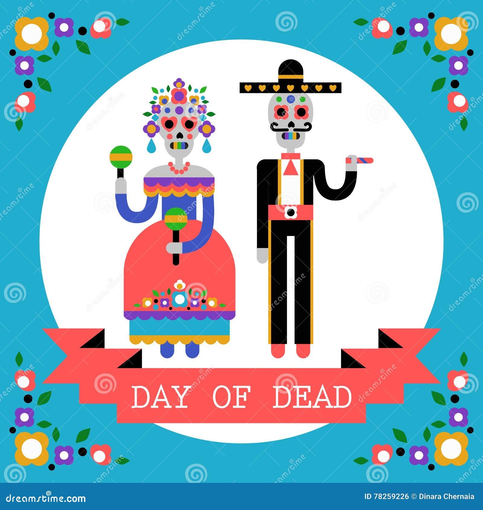 Ημέρα του νεκρού & x28 Dia de Los Muertos& x29