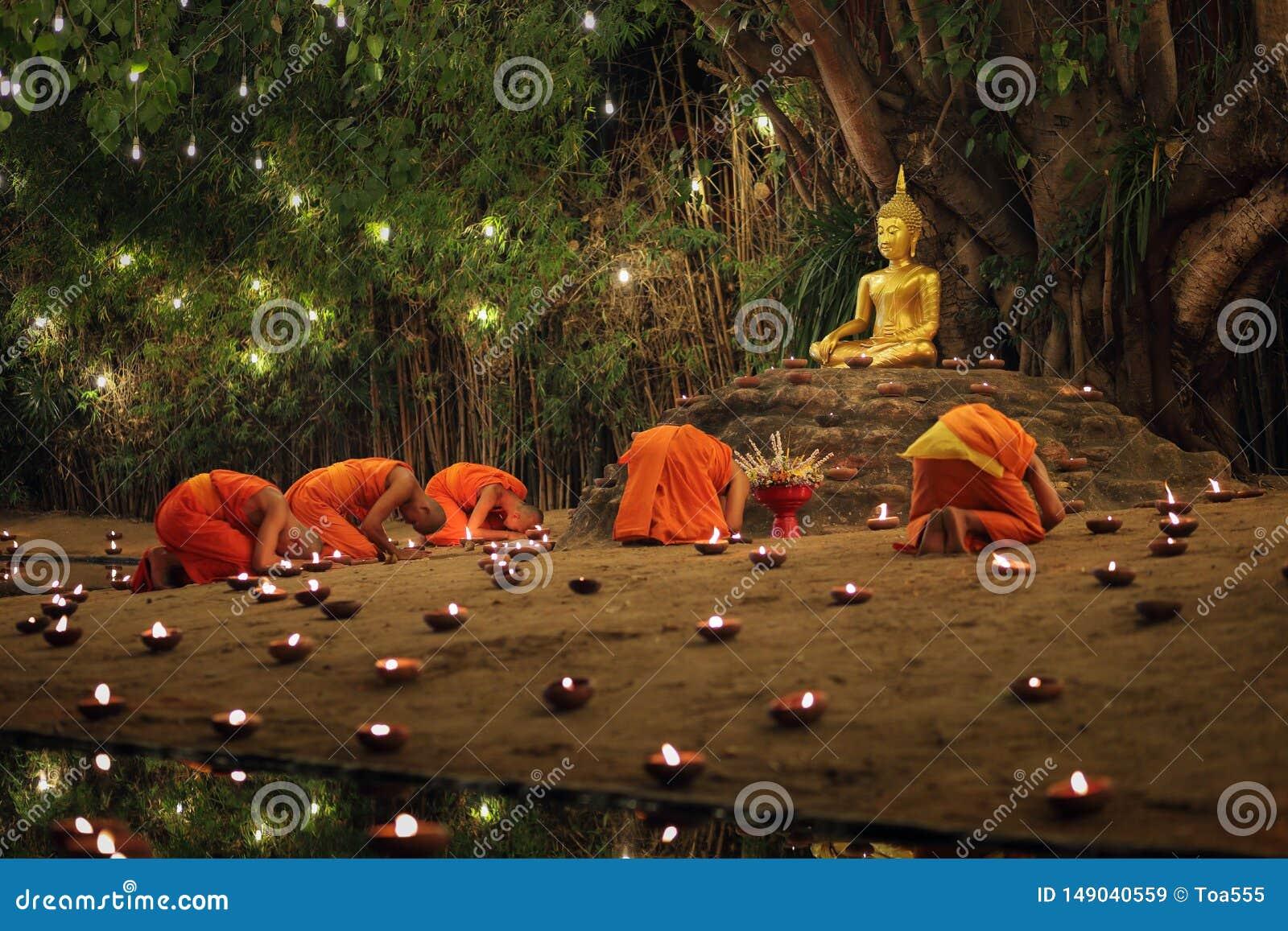 Ημέρα Bucha Makha, Chiangmai, Ταϊλάνδη