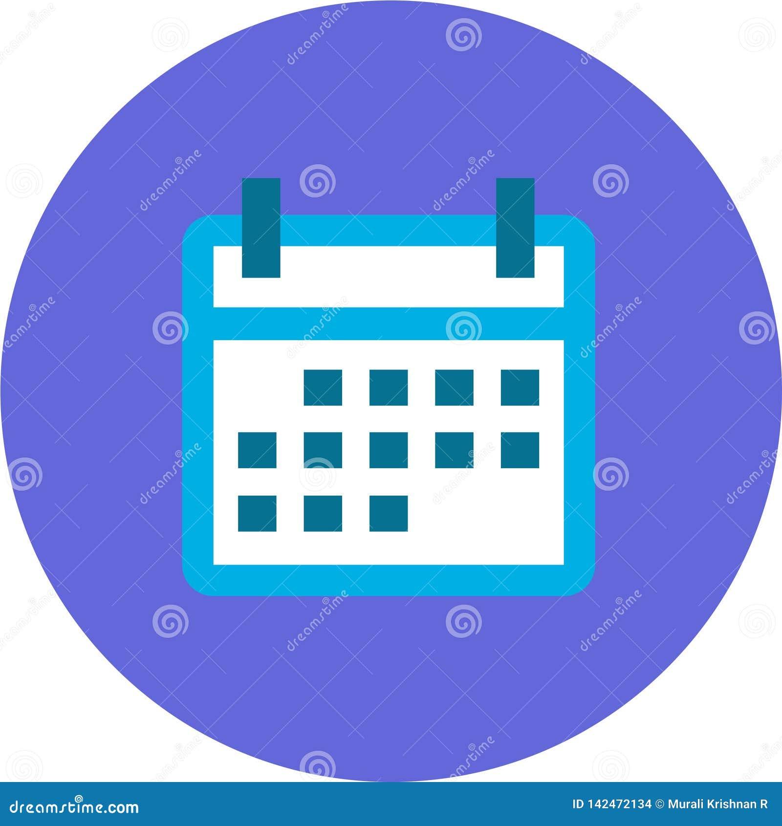 Ημερολογιακό εικονίδιο για τις αρρενωπές, IOS εφαρμογές και τις εφαρμογές Ιστού