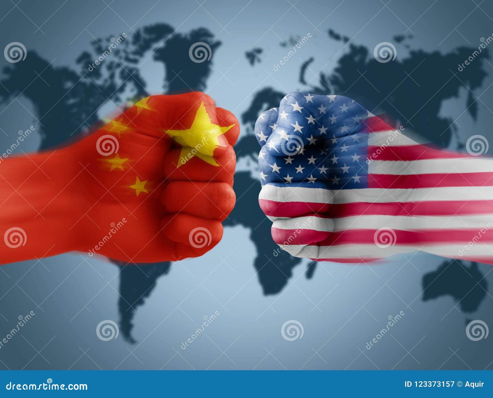 ΗΠΑ - Εμπορικός πόλεμος της Κίνας