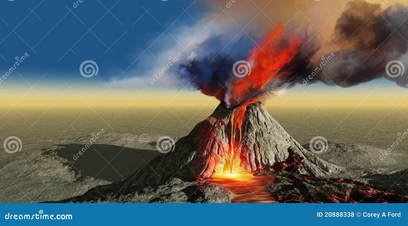 ηφαίστειο καπνού
