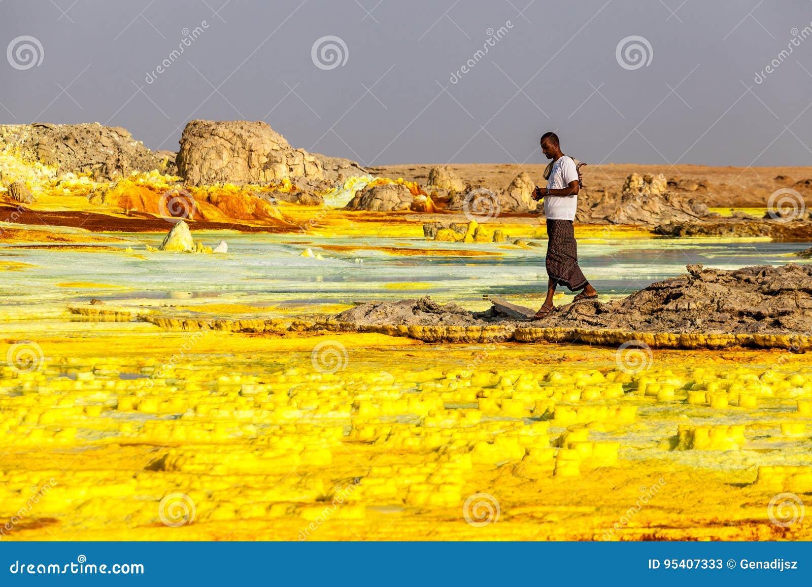 Ηφαίστειο Dallol, Αιθιοπία