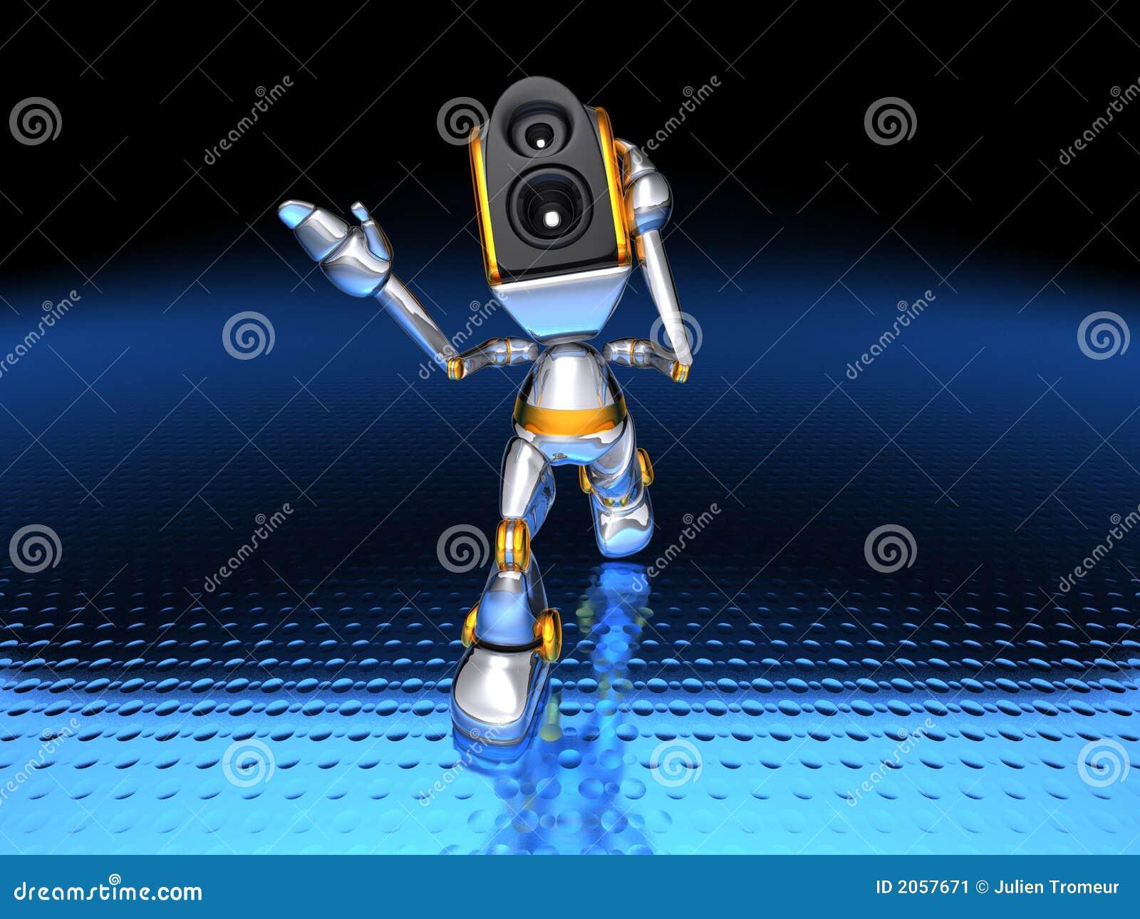 ηχητικό σύστημα ρομπότ