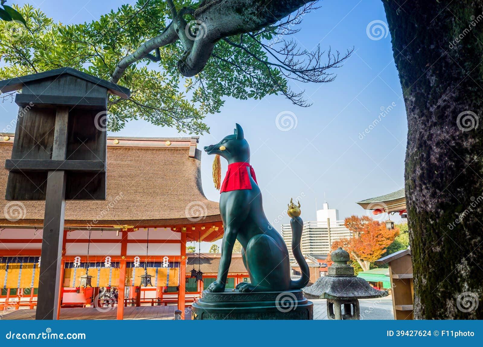Η λάρνακα Ιαπωνία Inari Taisha Fushimi