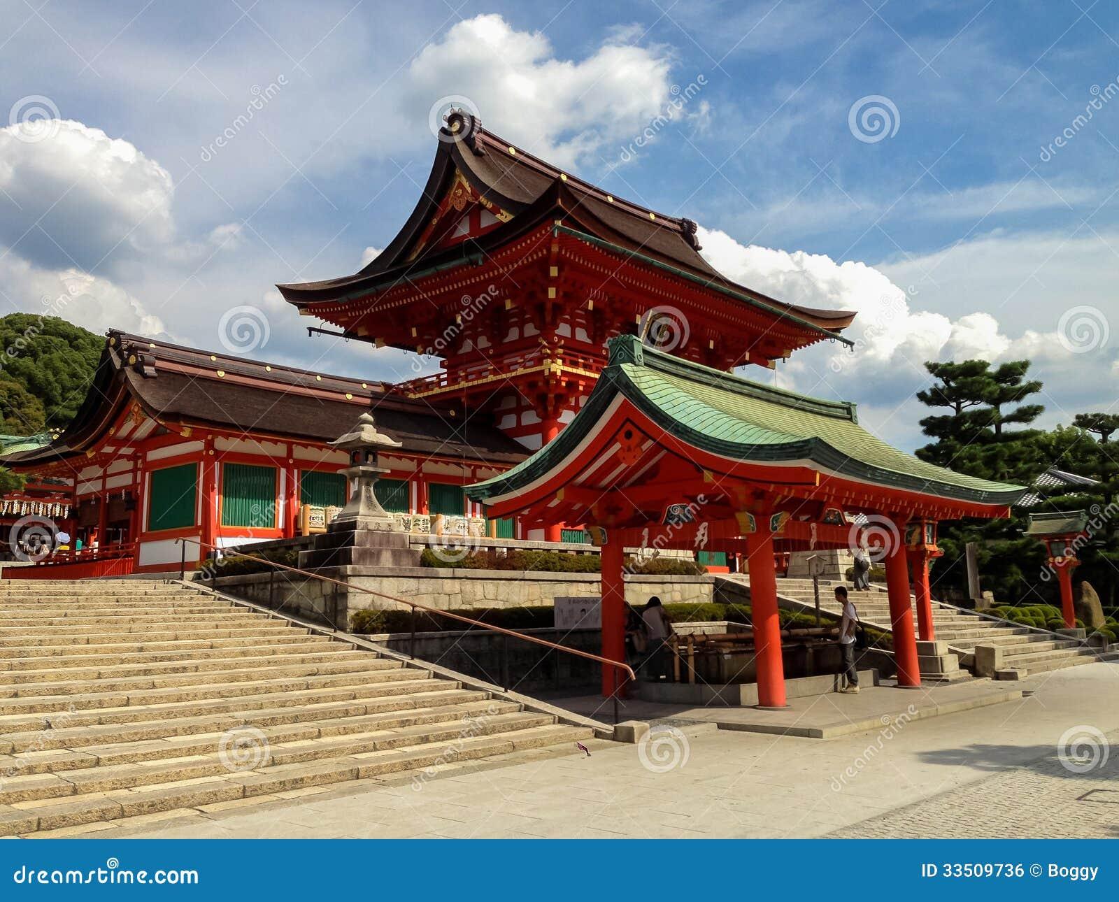 Η λάρνακα taisha Inari Fushimi στο Κιότο, Ιαπωνία