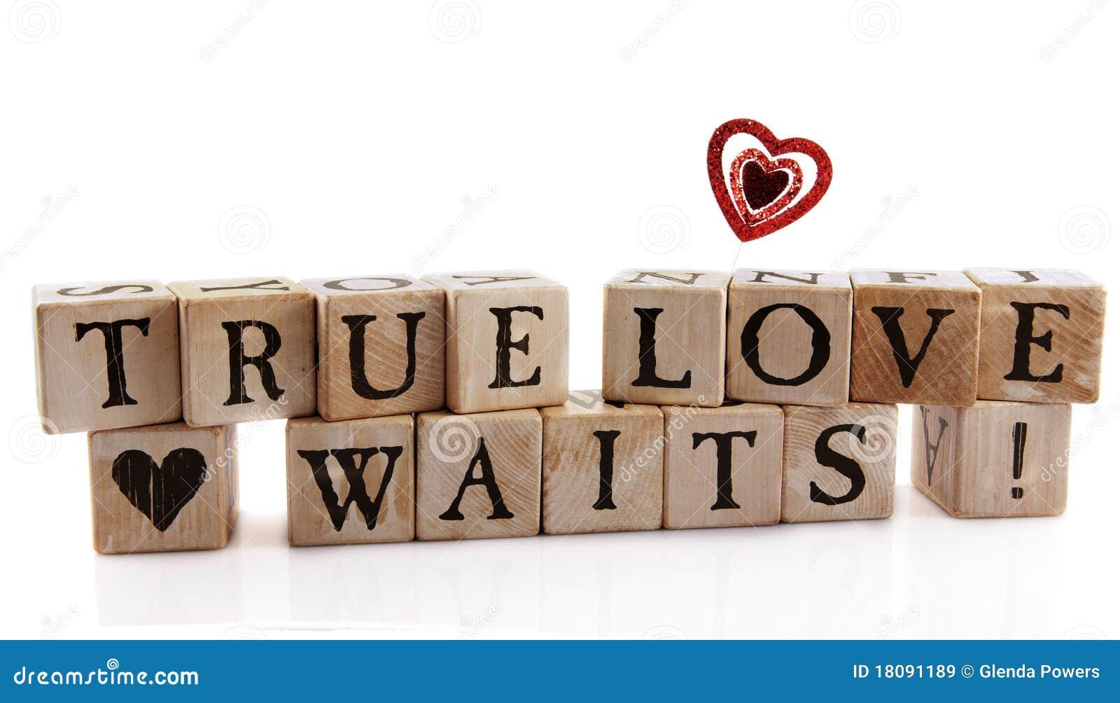 η αγάπη αληθινή περιμένει