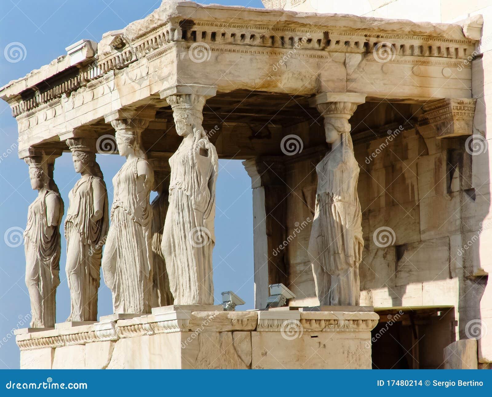 η ακρόπολη parthenon ο ναός
