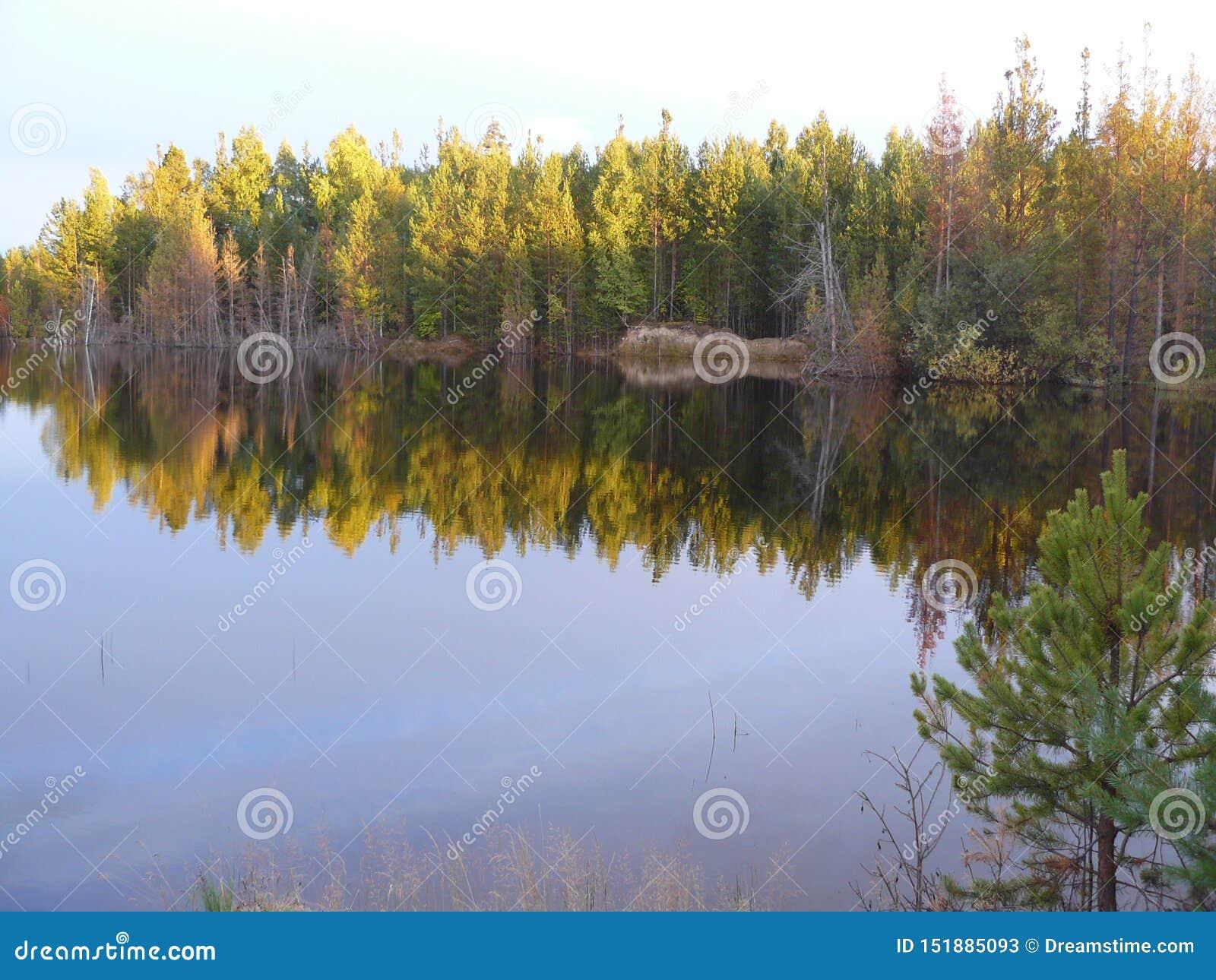 Η ακτή του ποταμού Σιβηρία Angara