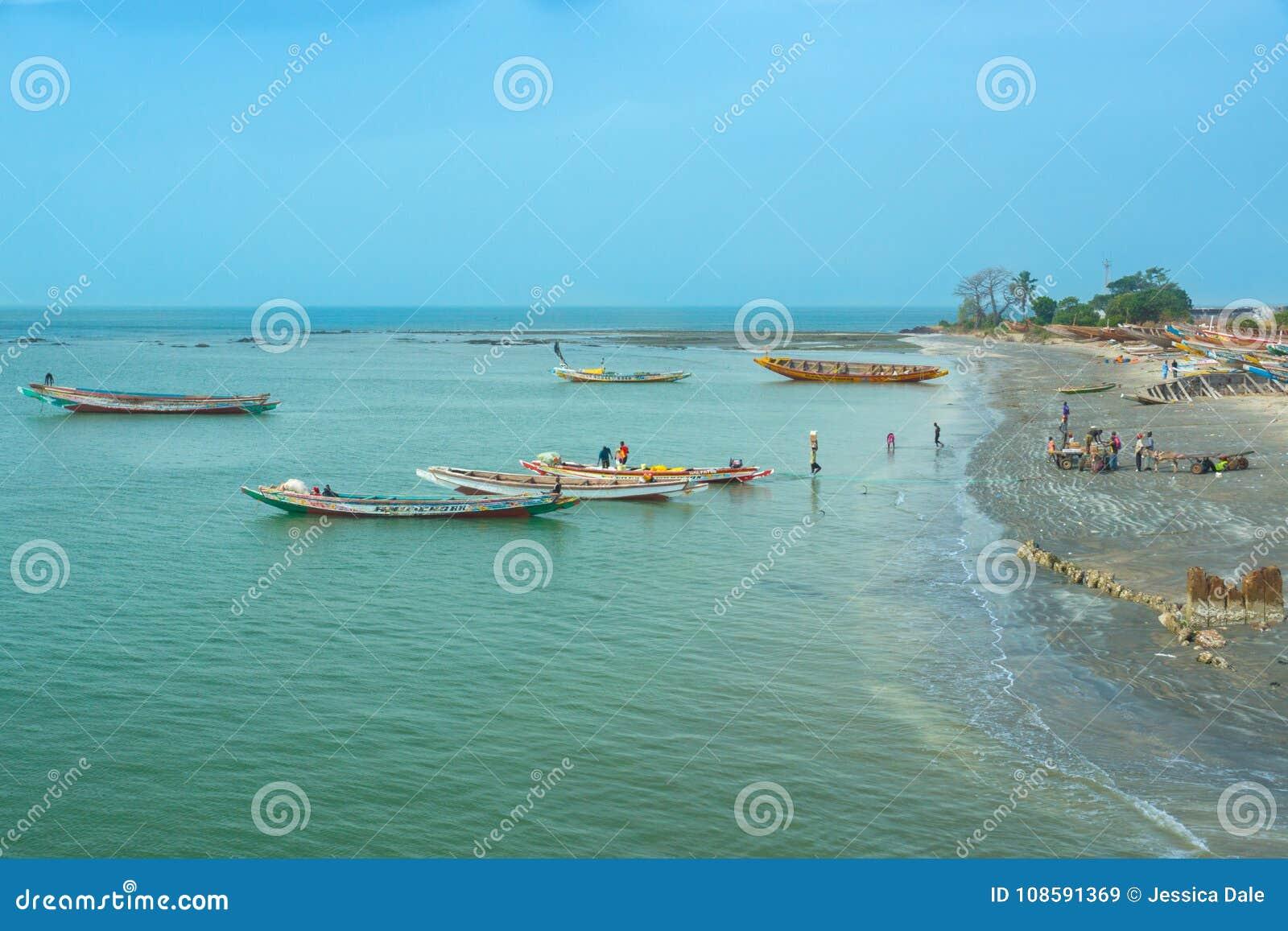 Η ακτή Barra, Γκάμπια