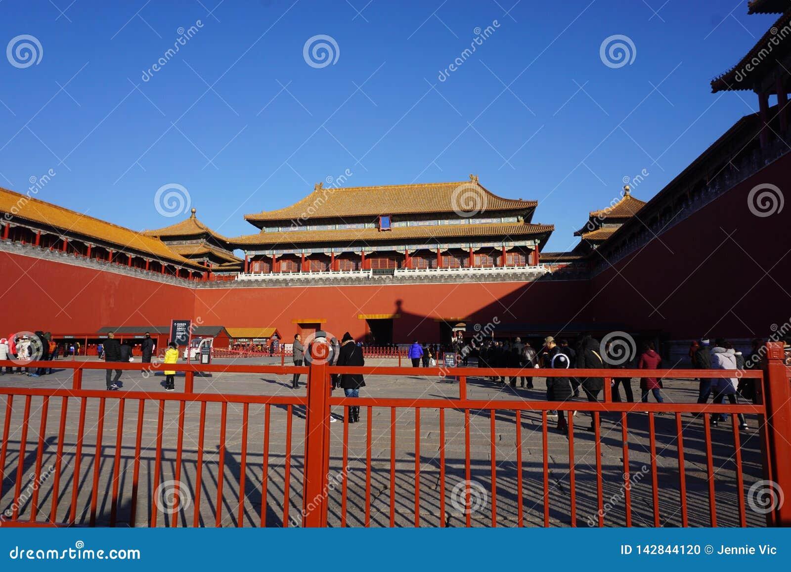 Η απαγορευμένη πόλη στο Πεκίνο