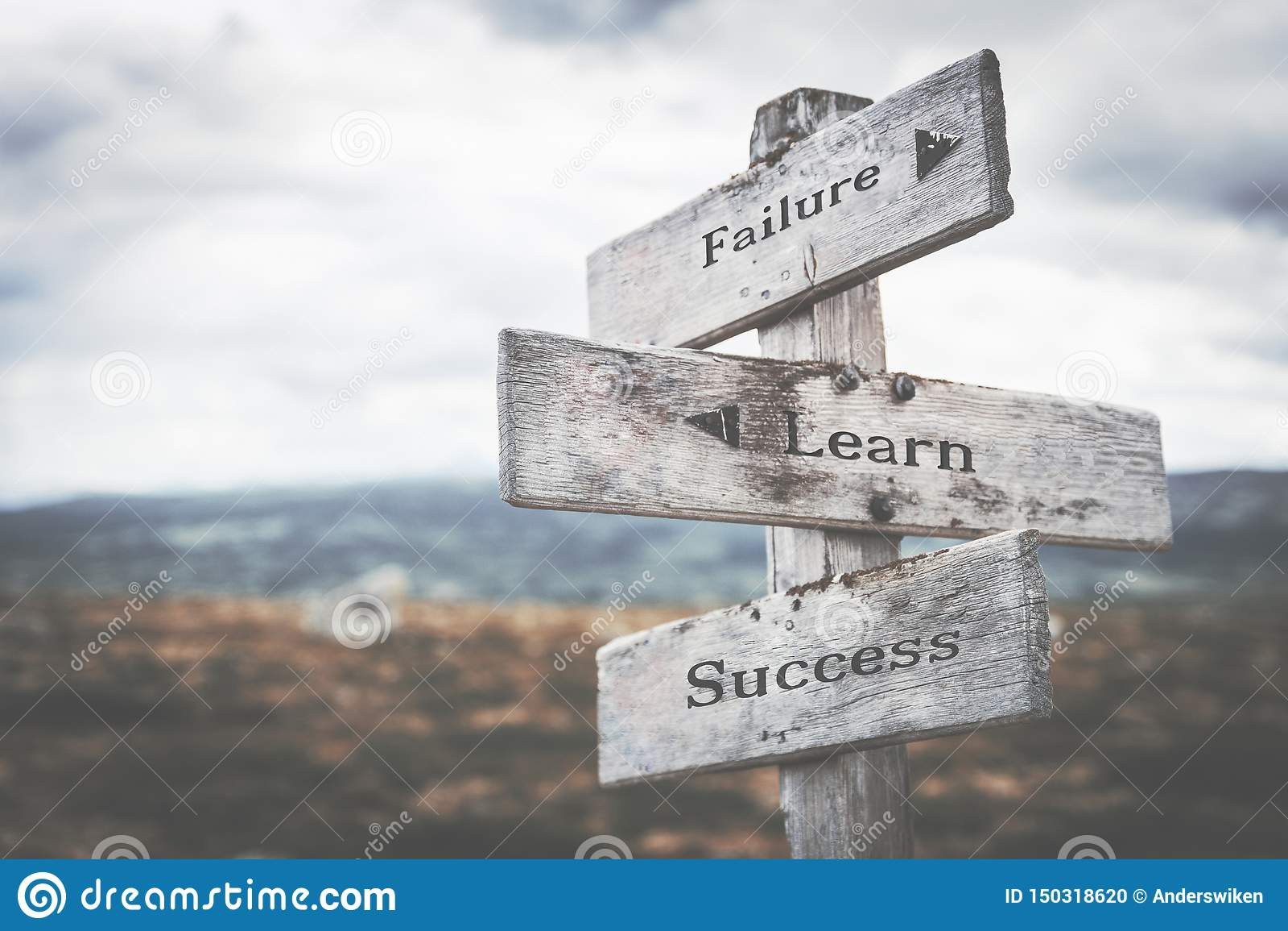 Η αποτυχία, μαθαίνει, η επιτυχία καθοδηγεί στη φύση