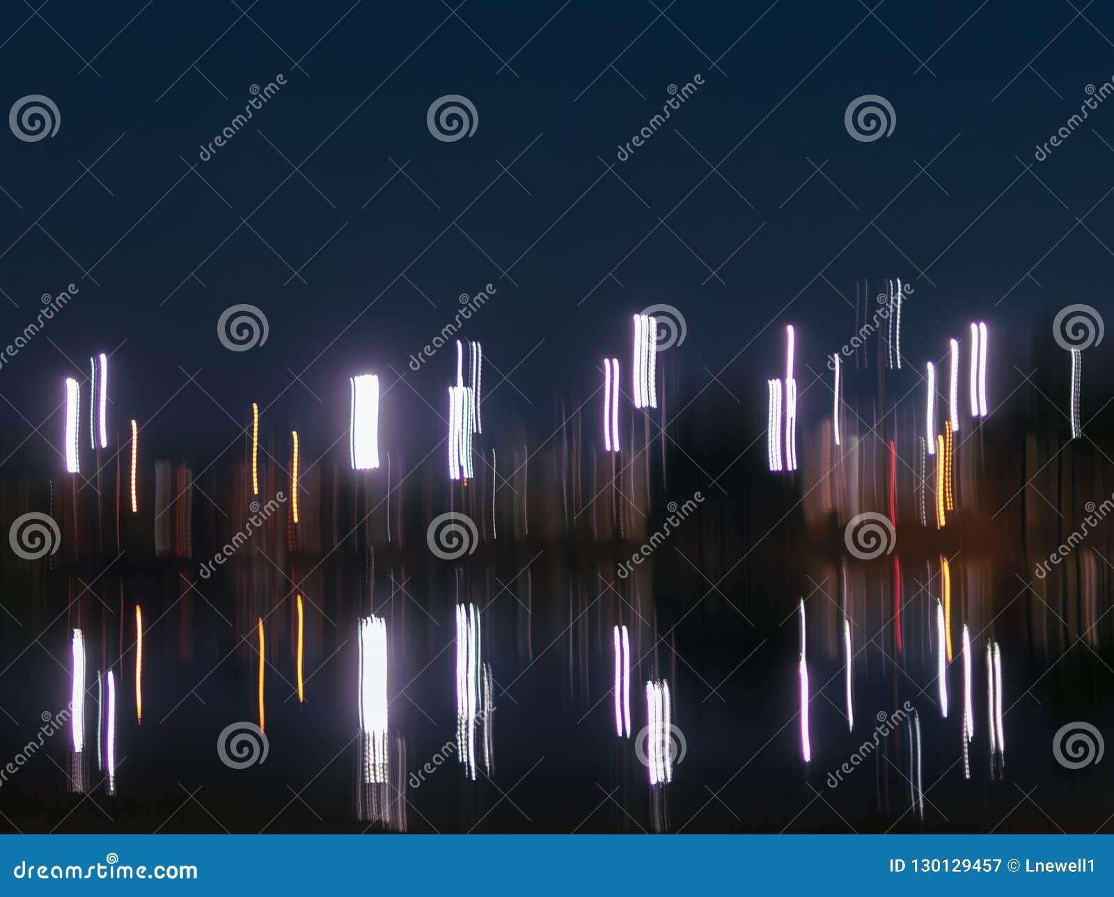 Η αφηρημένη νύχτα ανάβει το υπόβαθρο με το διάστημα αντιγράφων