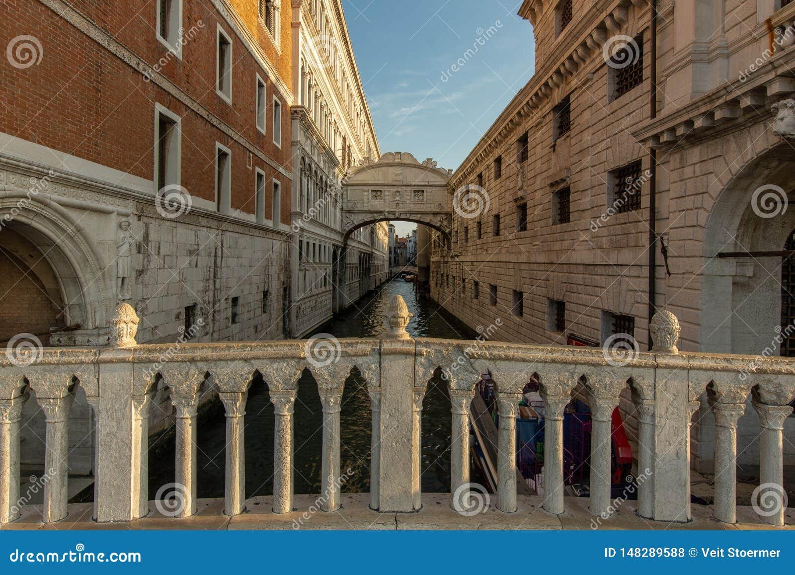 Η γέφυρα στεναγμού στη Βενετία
