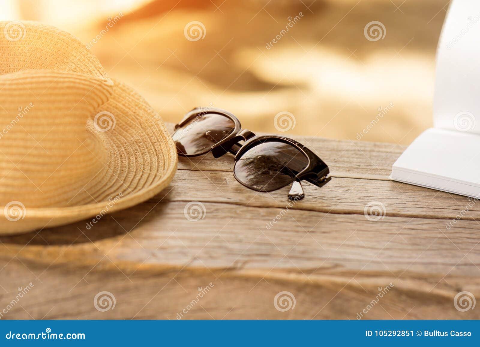 Η γυναίκα κάθεται στην ταλάντευση για την ανάγνωση ενός βιβλίου στην παραλία