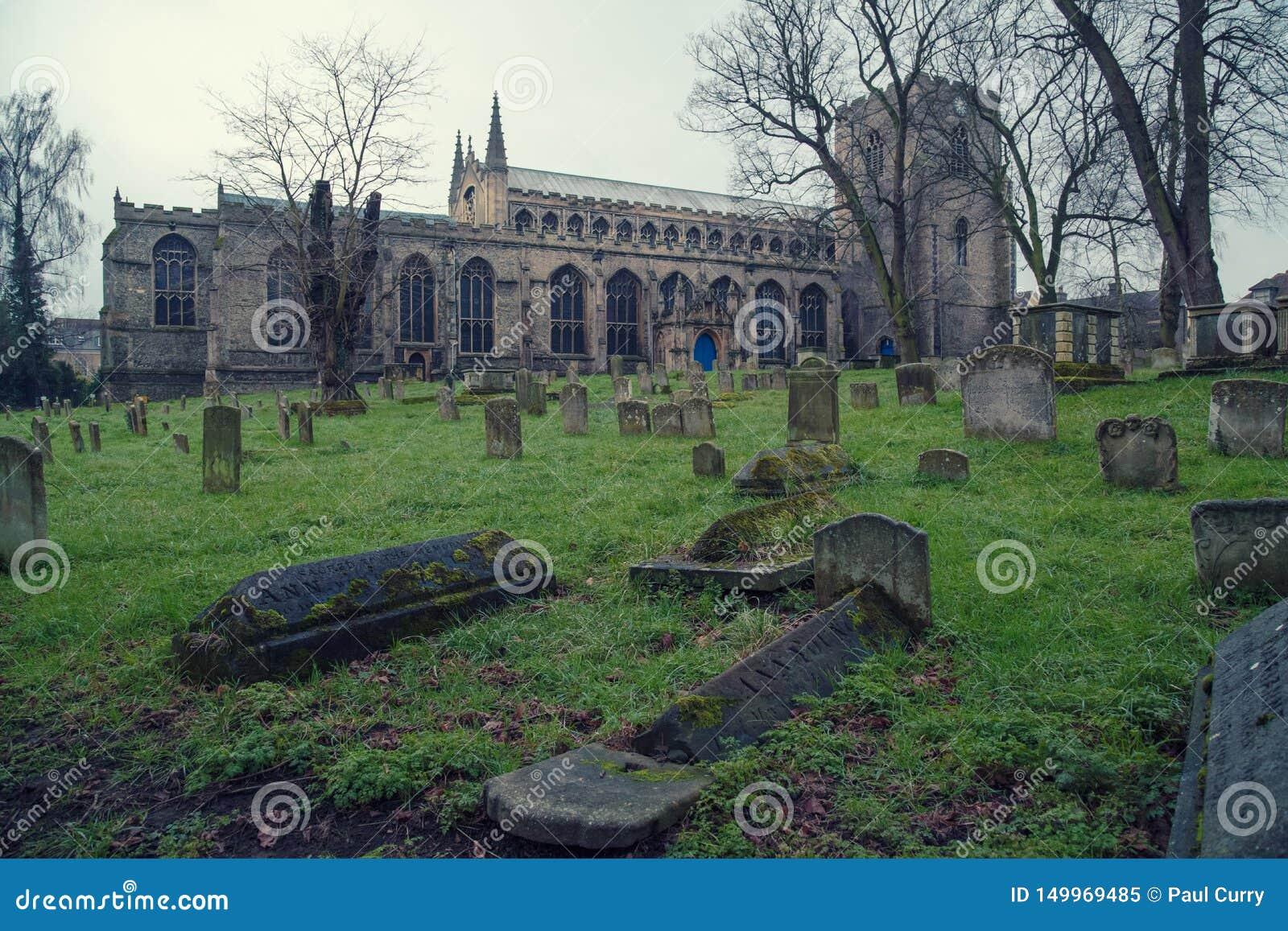 Η εκκλησία του ST Mary, θάβει το ST Edmunds