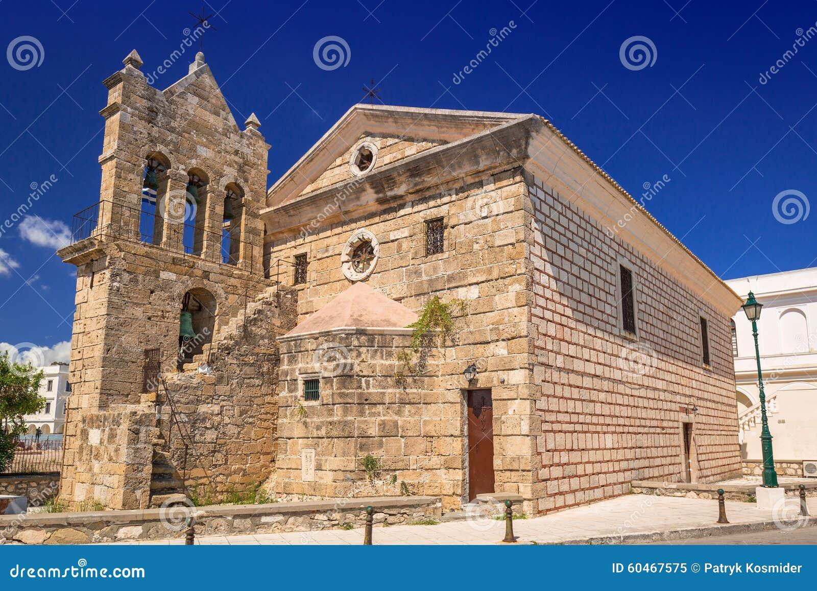 Η εκκλησία Άγιου Βασίλη του τυφλοπόντικα στη Ζάκυνθο, Ελλάδα