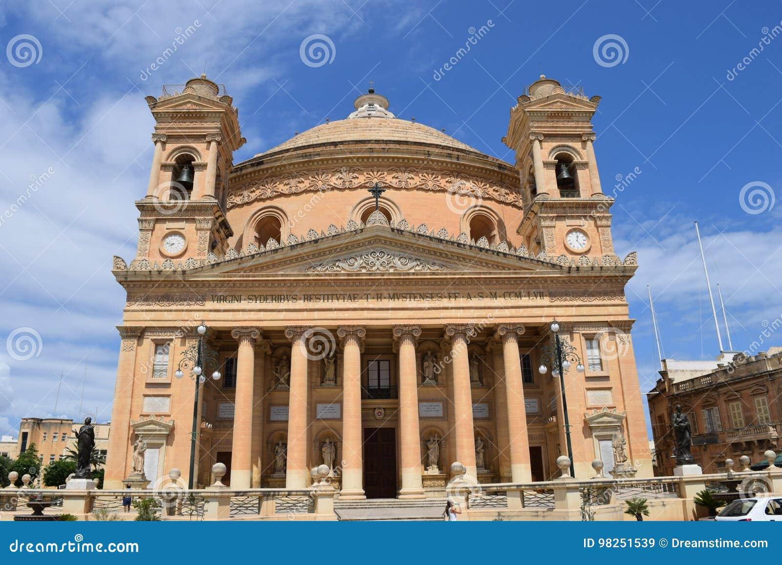 Η εκκλησία θόλων Mosta