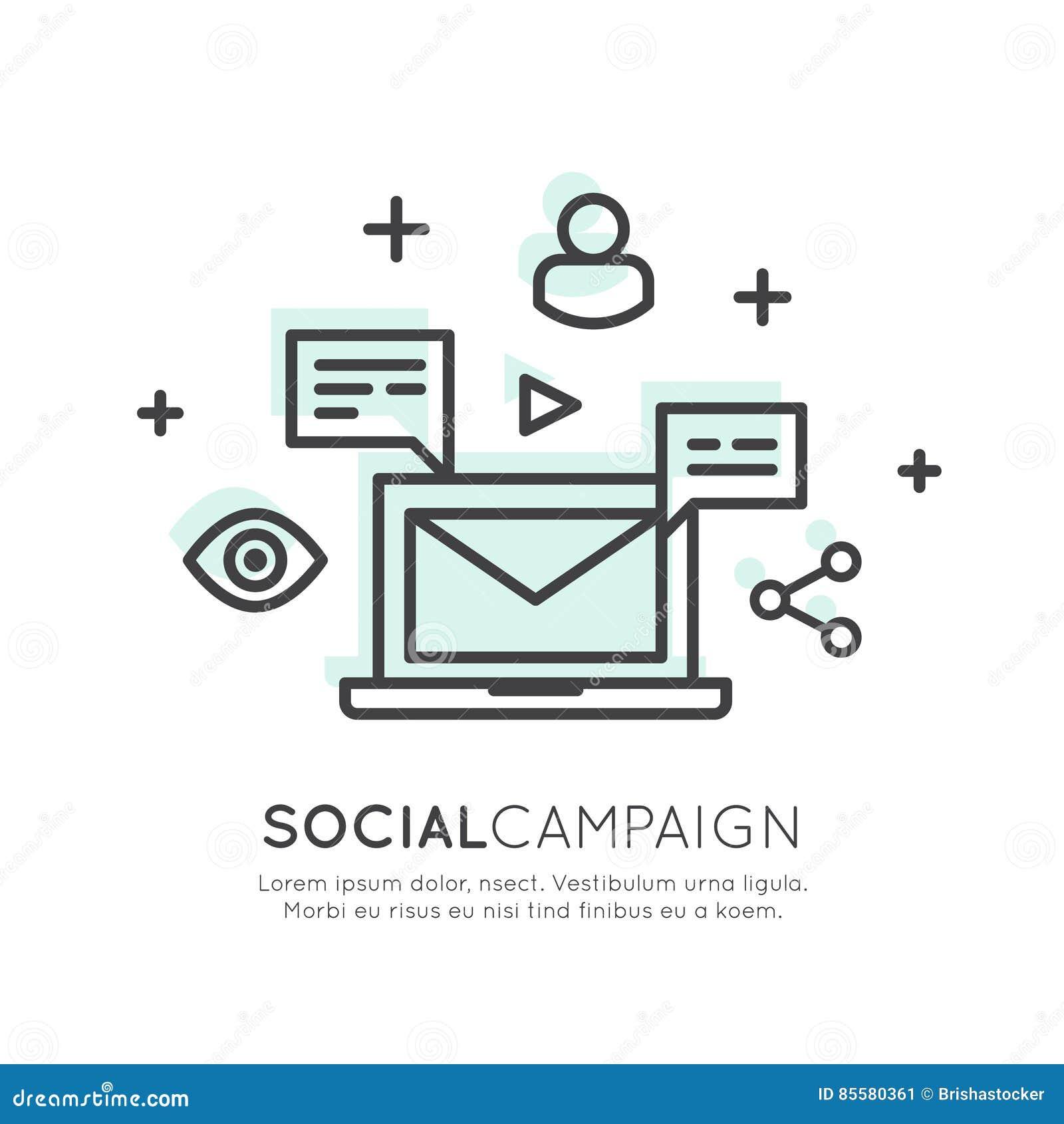 Ηλεκτρονικό ταχυδρομείο Διαδικτύου ή κινητό μάρκετινγκ ανακοινώσεων και προσφοράς και κοινωνική εκστρατεία