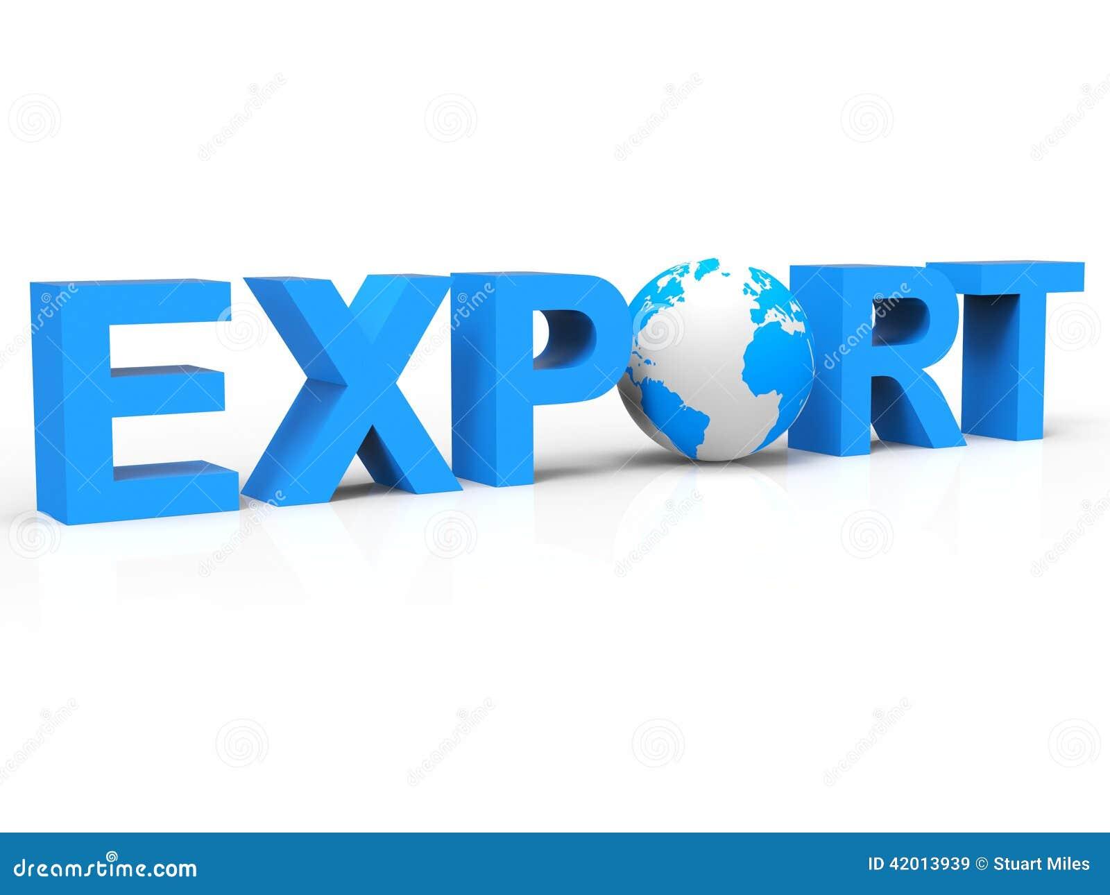 Η εξαγωγή σφαιρών αντιπροσωπεύει πωλεί στο εξωτερικό και εξήγαγε