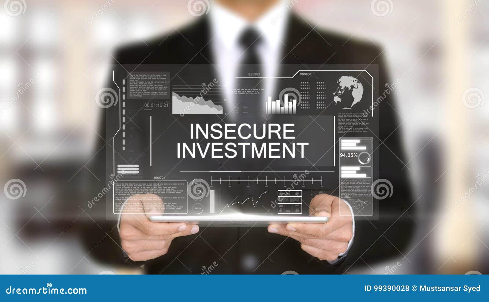 Η επισφαλής επένδυση, φουτουριστική διεπαφή ολογραμμάτων, αύξησε την εικονική πραγματικότητα