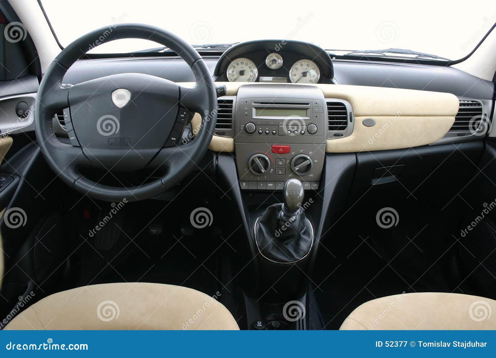 Download η εσωτερική Lancia Υ Ypsilon Στοκ Εικόνα - εικόνα από σύστημα, σχέδιο: 52377