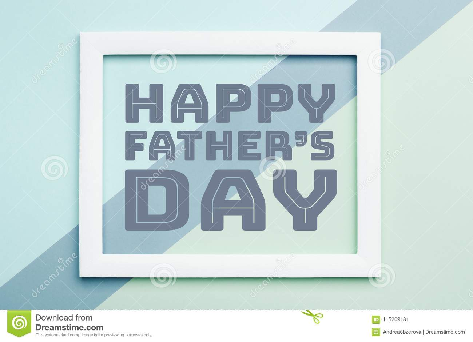 Η ευτυχής καραμέλα κρητιδογραφιών ημέρας πατέρων ` s χρωματίζει το υπόβαθρο Επίπεδος βάλτε τη ευχετήρια κάρτα ημέρας πατέρων μινι