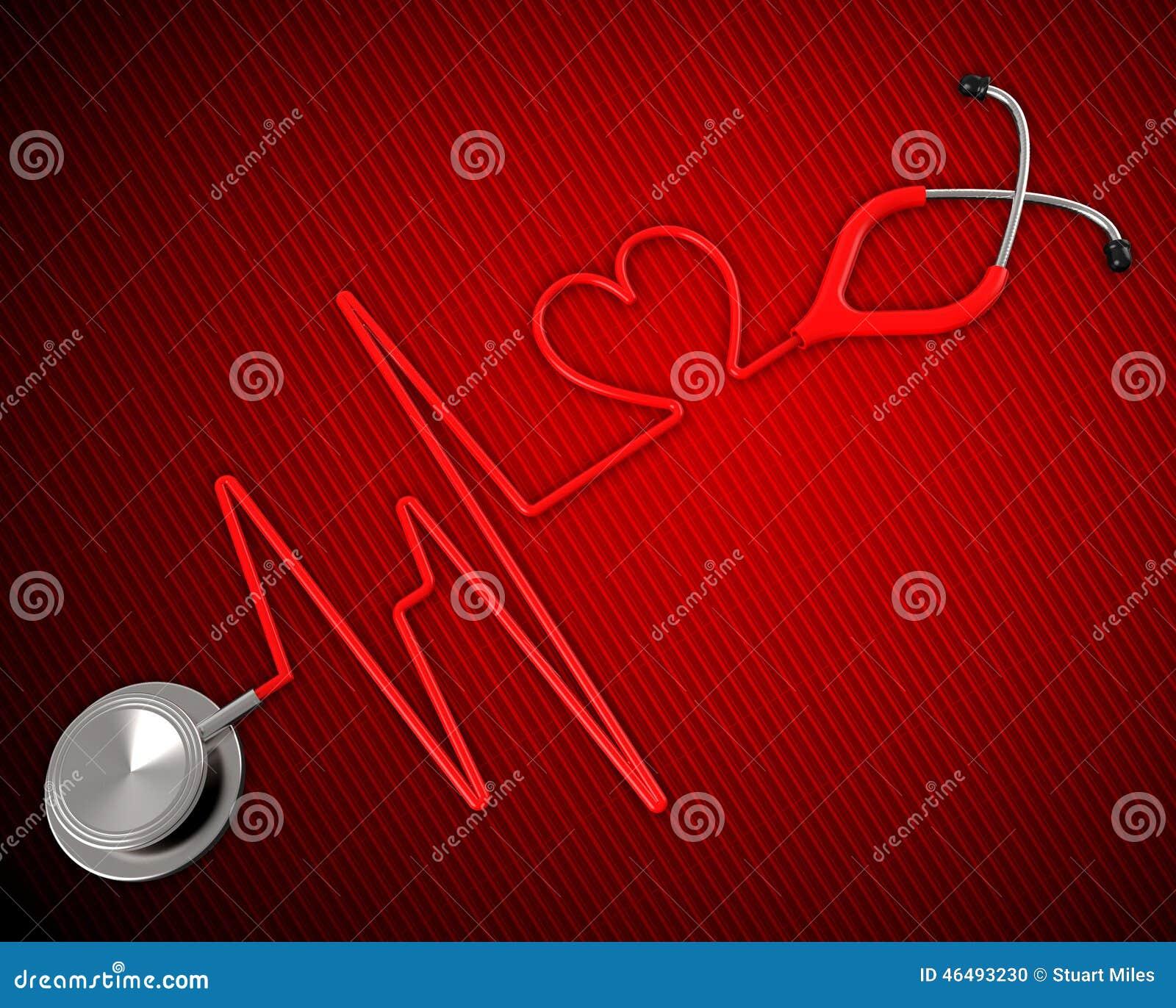 Η ιατρική υγεία παρουσιάζει προληπτική ιατρική και καρδιακός
