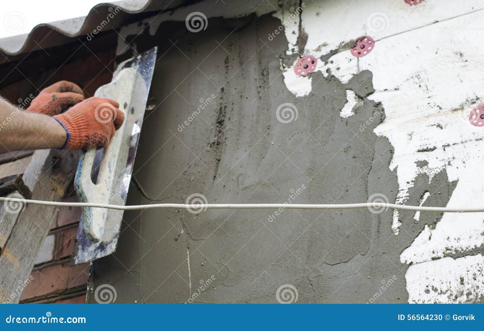 Download Η διαδικασία Putty με Spatula Στοκ Εικόνες - εικόνα από μόνωση, μίγμα: 56564230