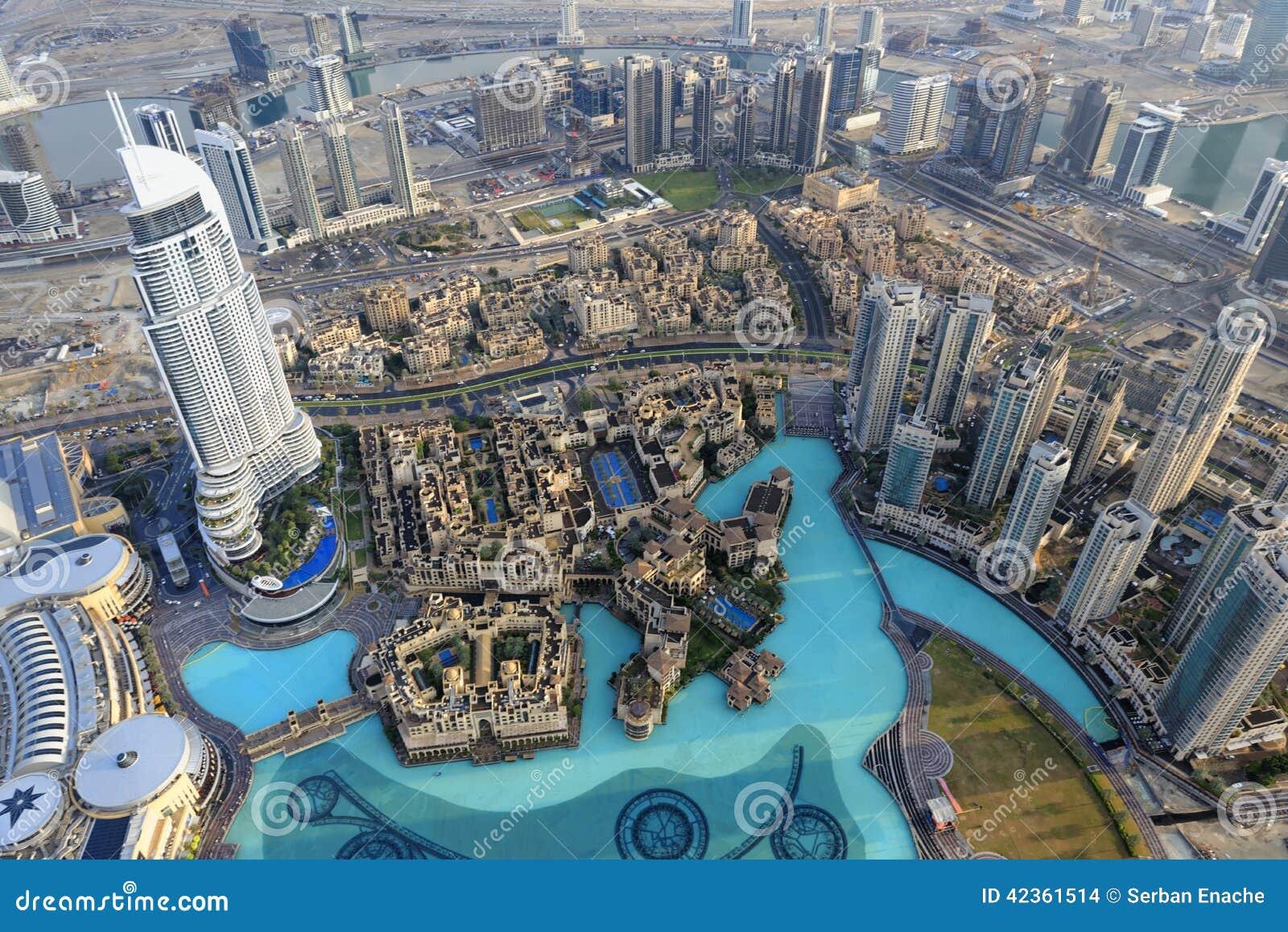 Η διεύθυνση στο κέντρο της πόλης Ντουμπάι