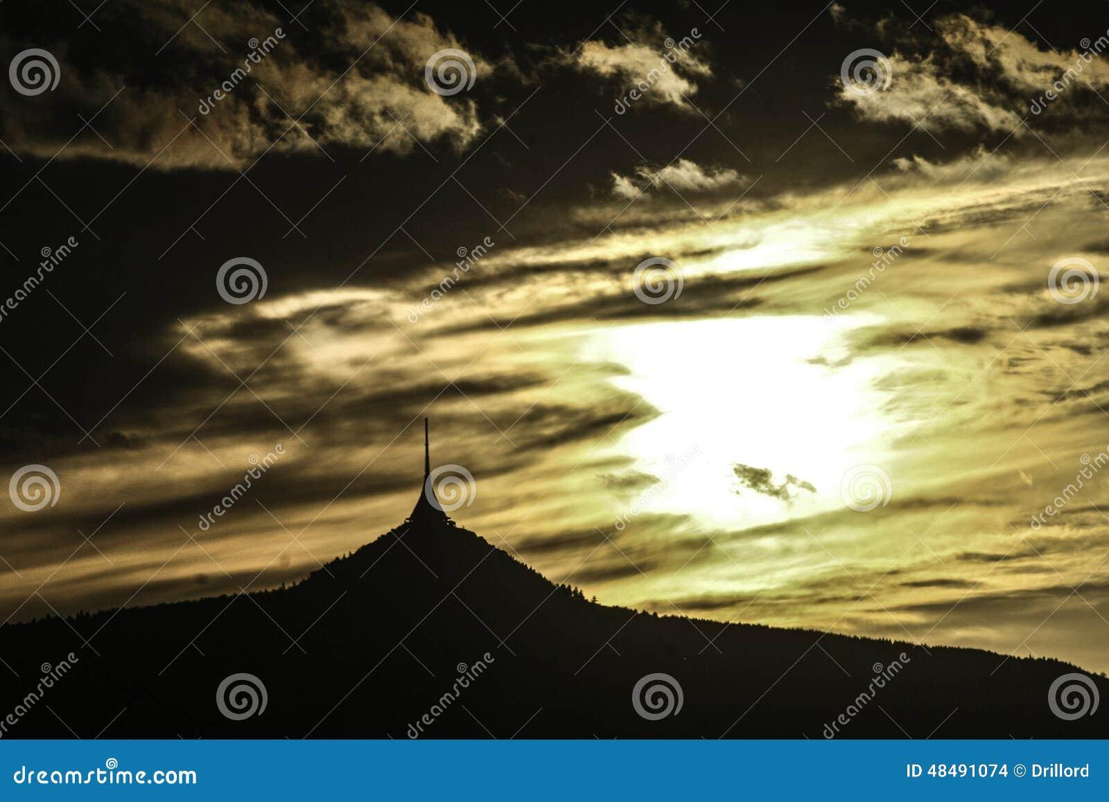 Ηλιοβασίλεμα σε Jested